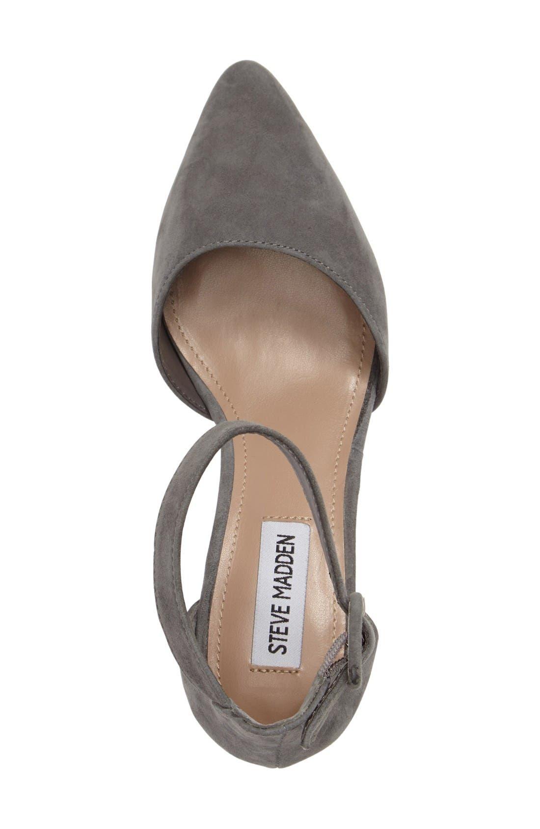 Alternate Image 3  - Steve Madden Dainna d'Orsay Ankle Strap Pump (Women)