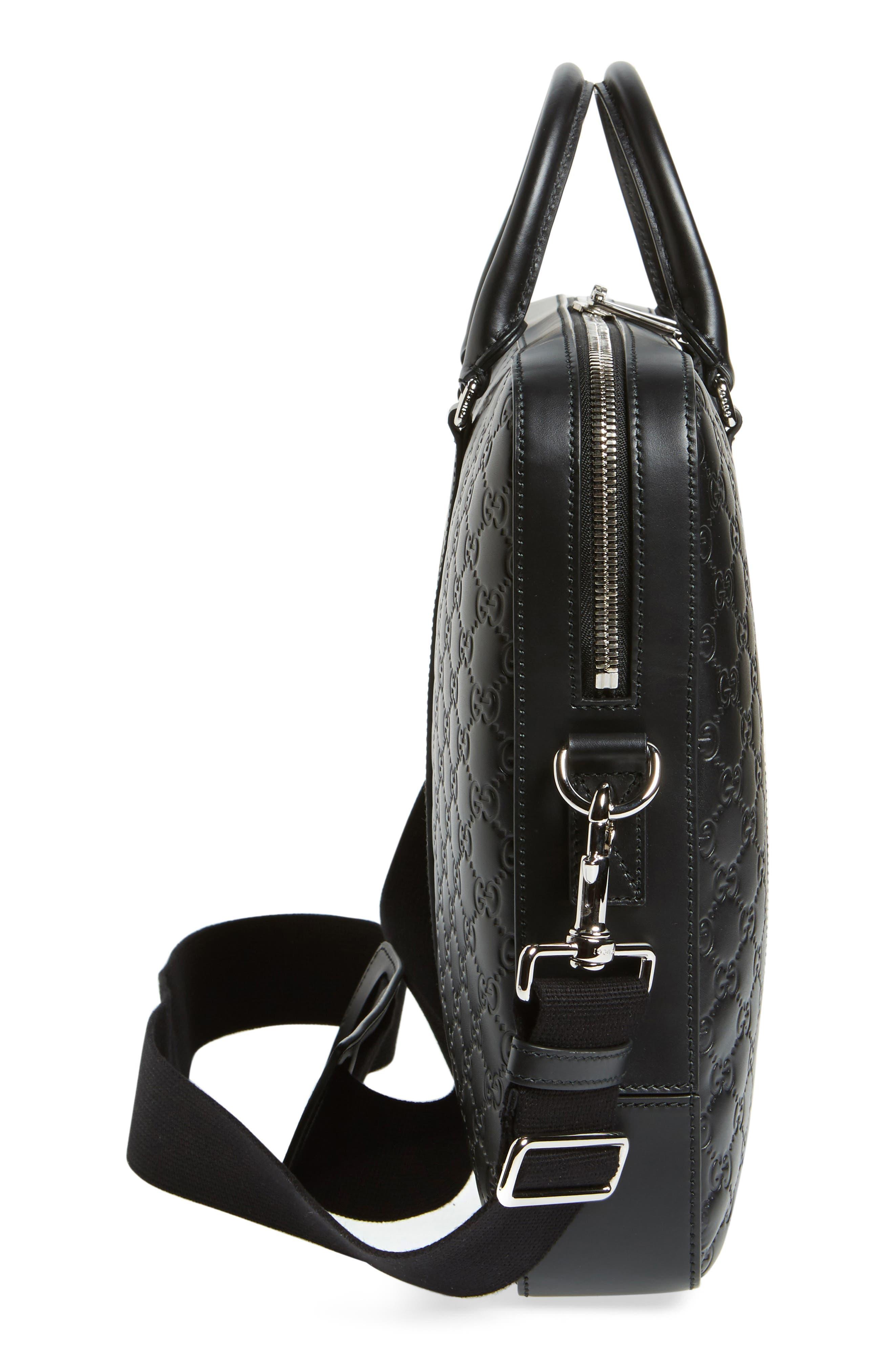 Alternate Image 5  - Gucci Signature Leather Briefcase