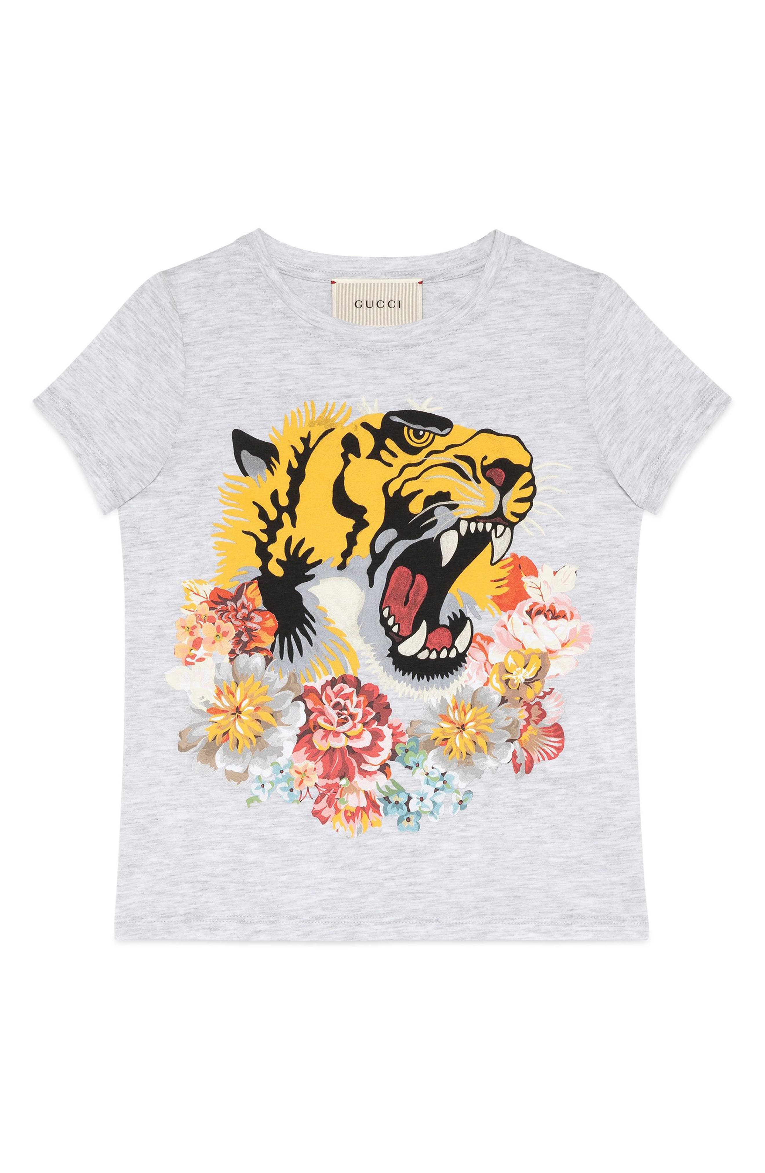 Gucci Tiger Graphic Tee (Little Girls & Big Girls)