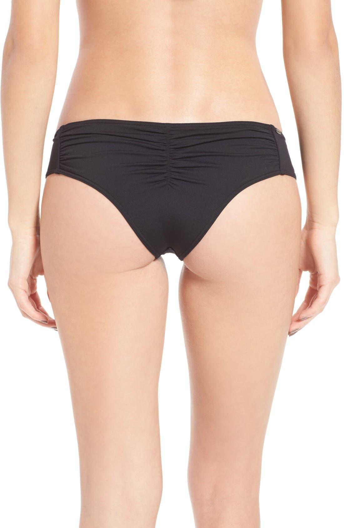 Main Image - O'Neill Salt Water Solids Hipster Bikini Bottoms