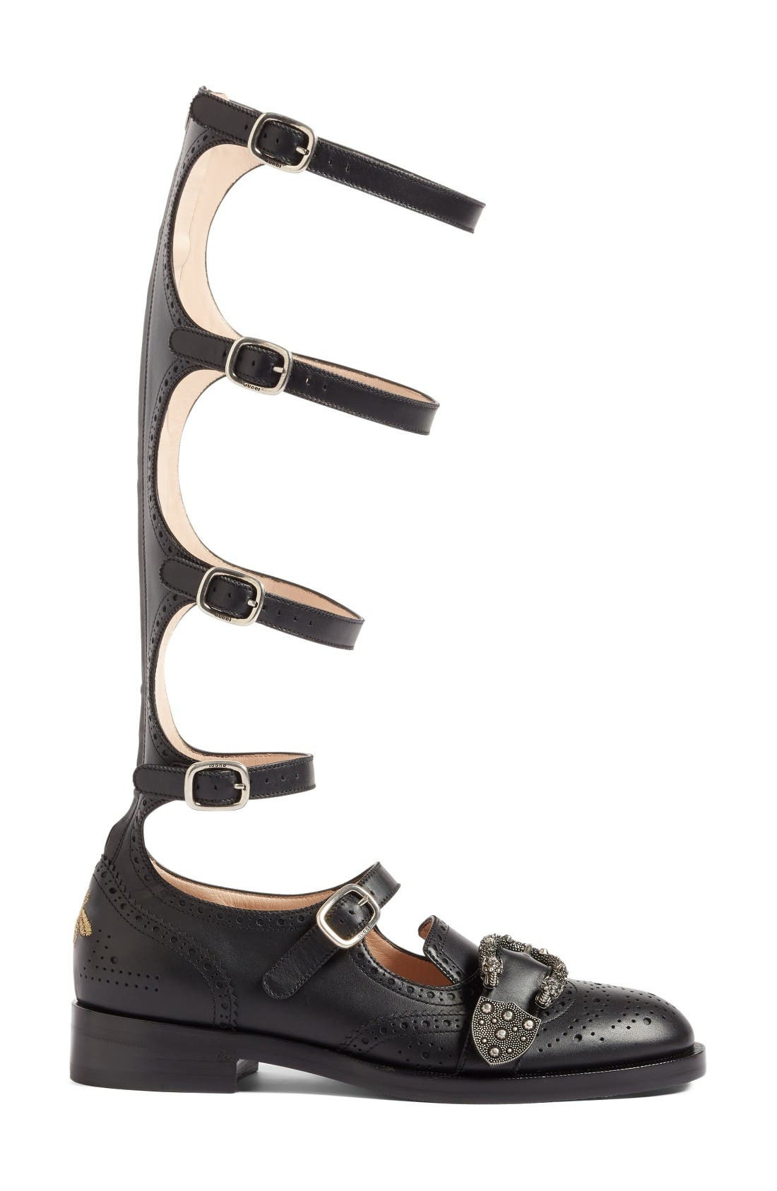 Alternate Image 4  - Gucci Gladiator Loafer (Women)