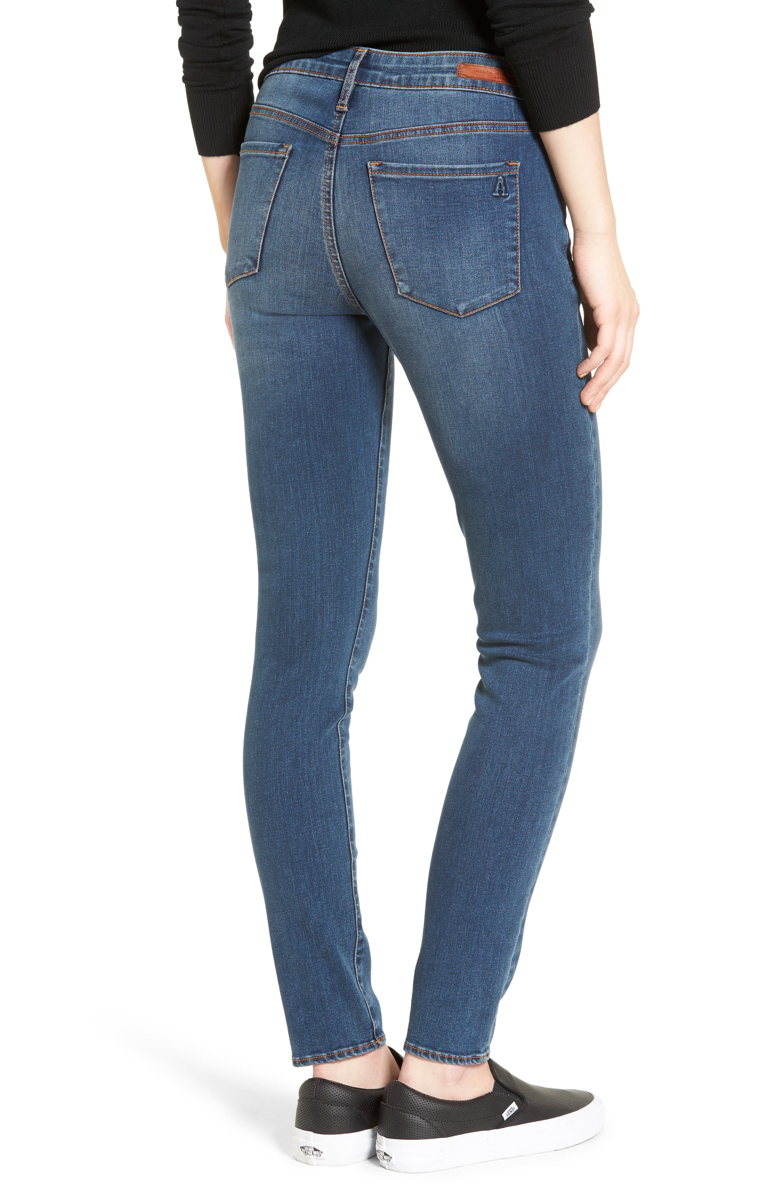 Alternate Image 3  - Articles of Society Sarah Skinny Jeans (Bancroft)
