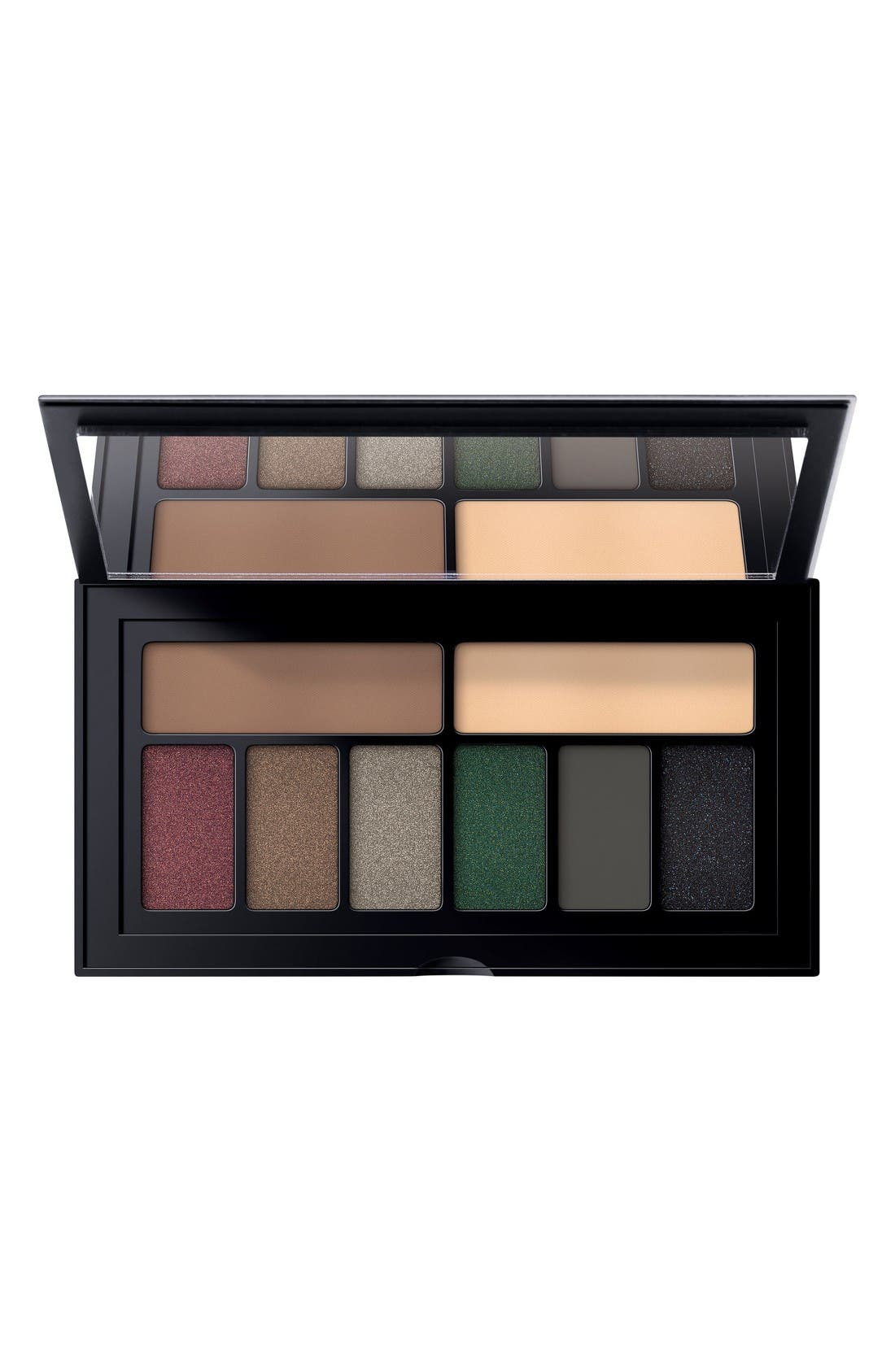 Cover Shot Smoky Eyeshadow Palette,                             Alternate thumbnail 3, color,                             Smoky