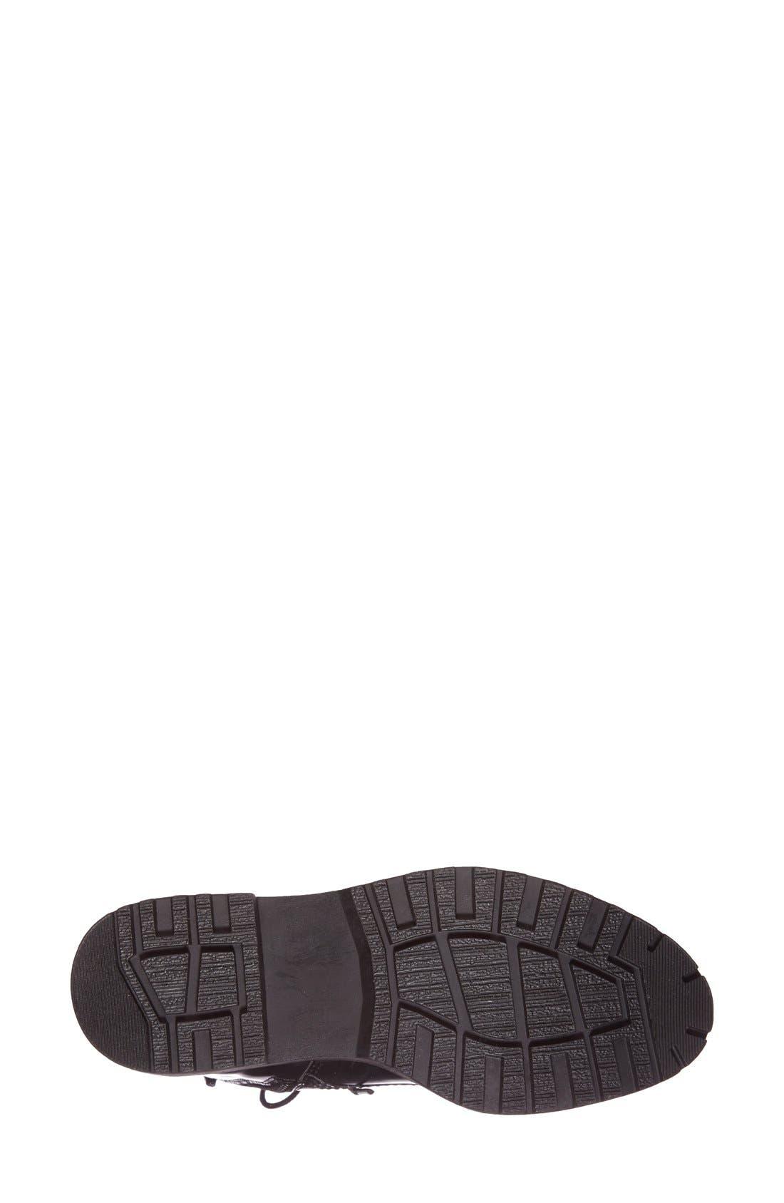 'Finnick' Boot,                             Alternate thumbnail 4, color,                             Black