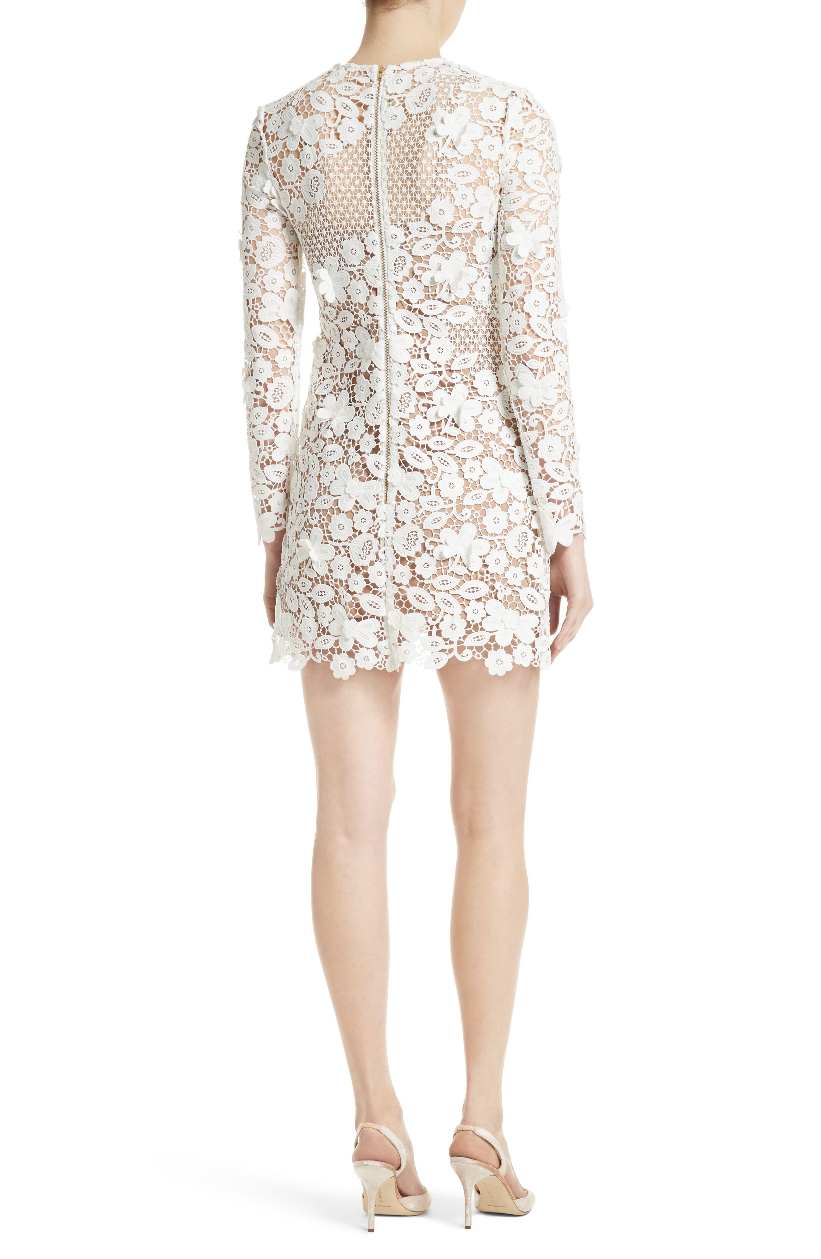 Alternate Image 2  - Self-Portrait Lace Minidress