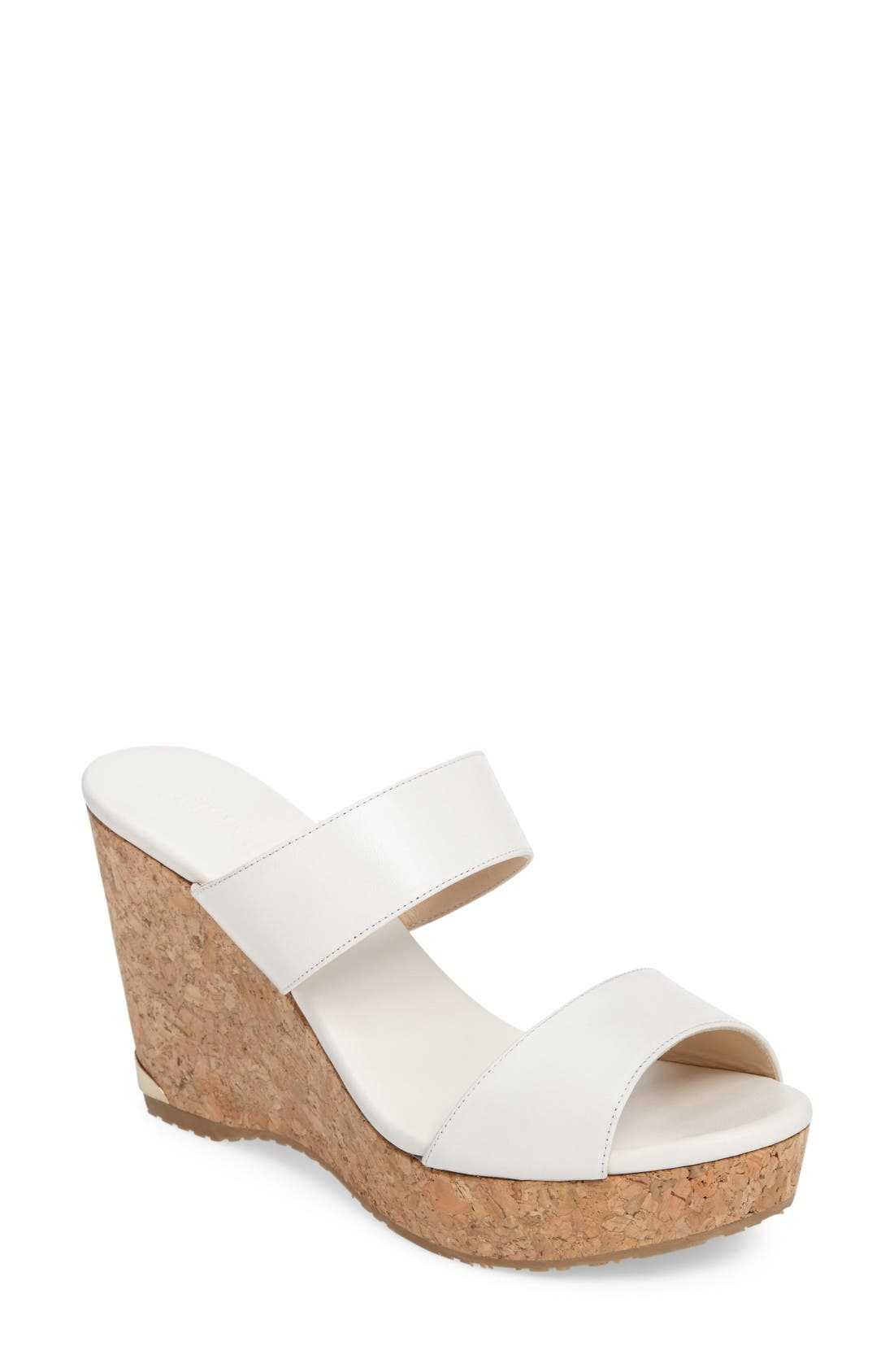 Alternate Image 1 Selected - Jimmy Choo Parker Wedge Sandal (Women)
