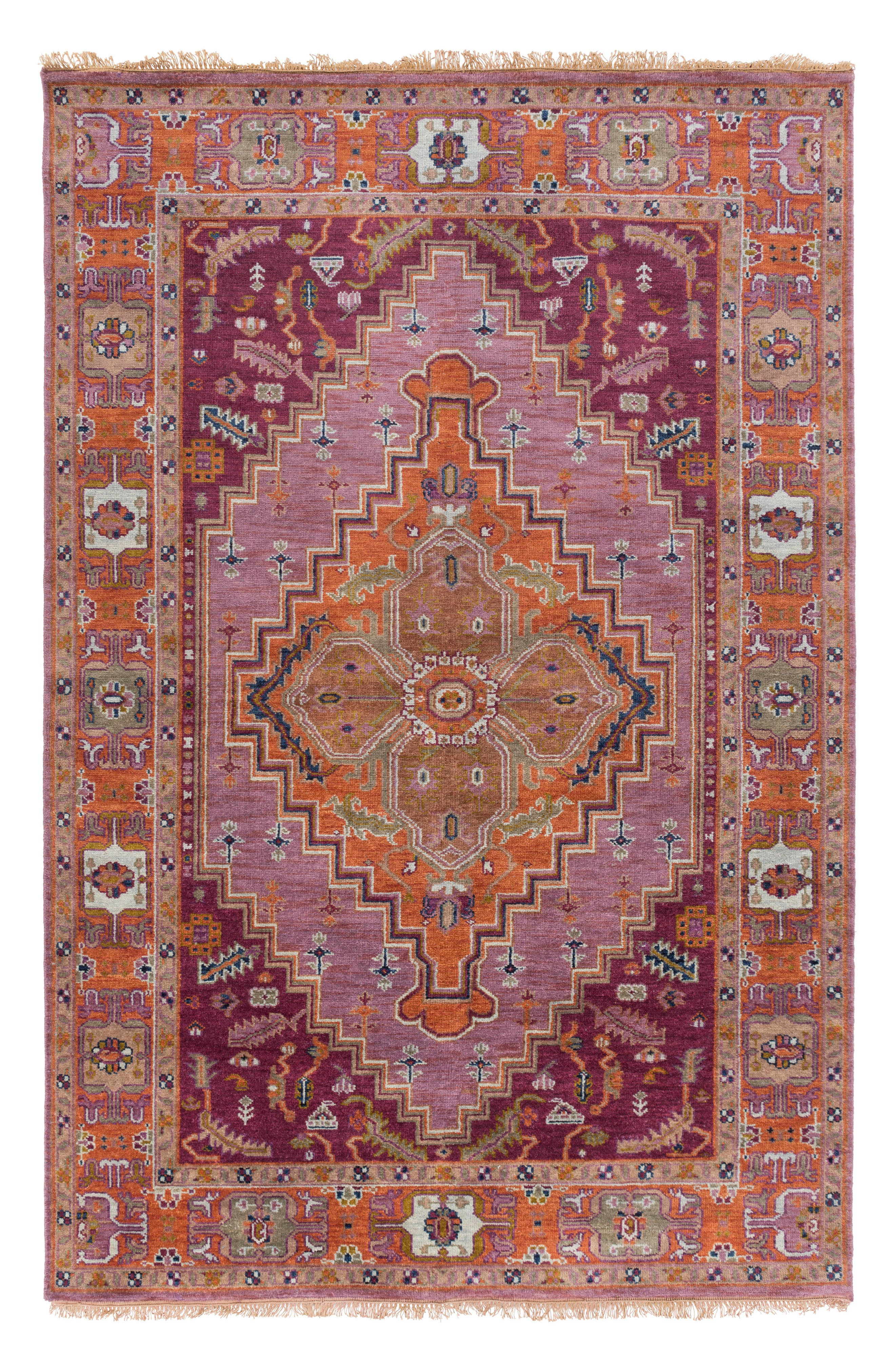 Alternate Image 1 Selected - Surya Home Zeus Global Wool Rug