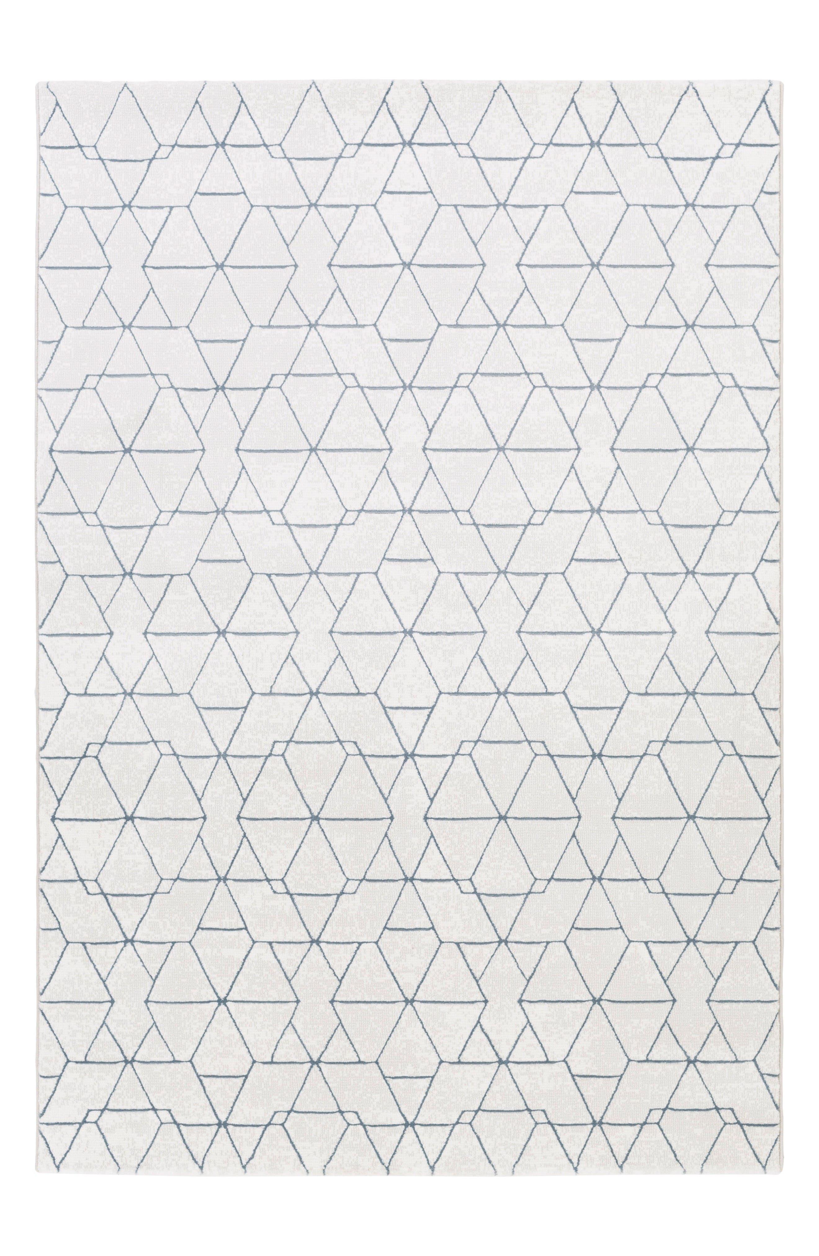 Geo Tres Rug,                         Main,                         color, Grey