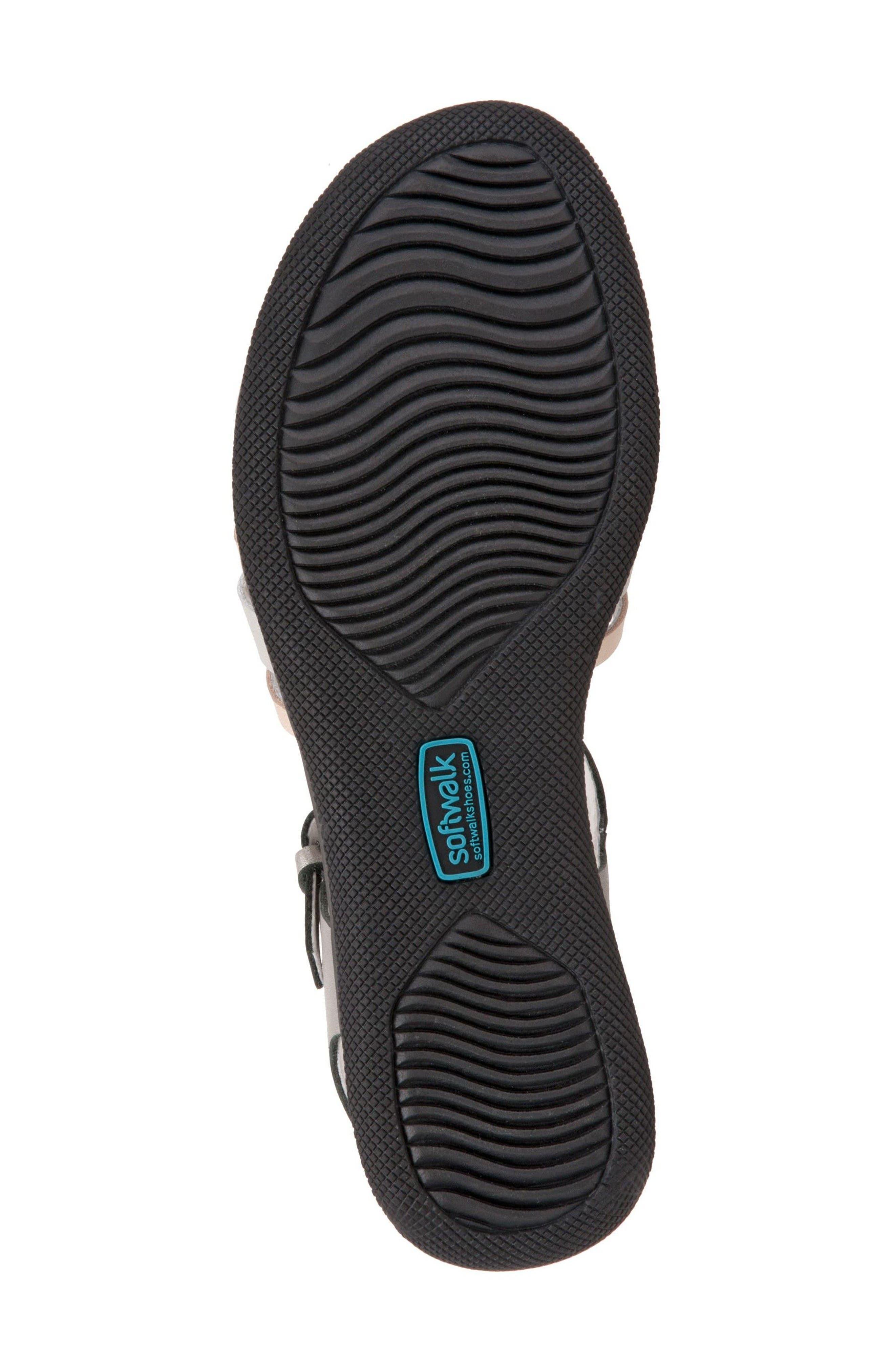 Alternate Image 4  - SoftWalk® Waft Sandal (Women)