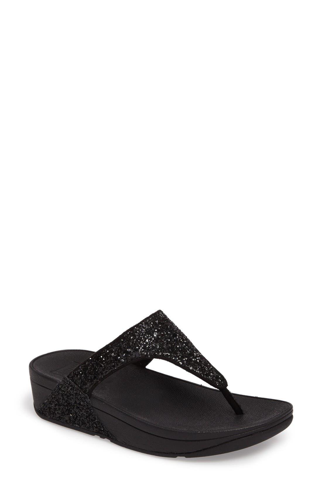 Main Image - FitFlop Glitterball™ Thong Sandal (Women)