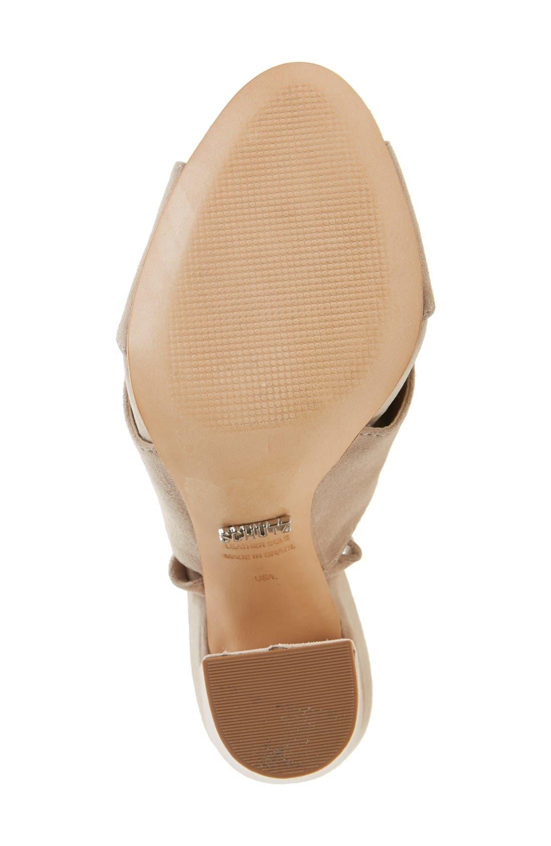 Alternate Image 4  - Schutz Damila Wraparound Tassel Sandal (Women)