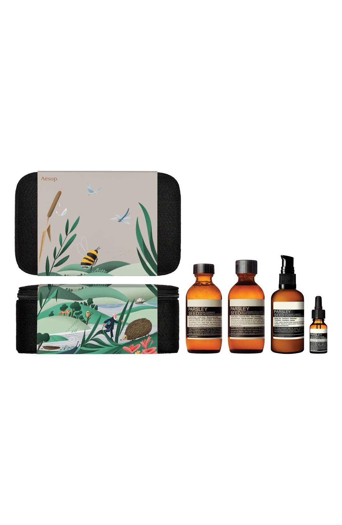 Alternate Image 2  - Aesop The Intent Observer Parsley Seed Skin Care Kit
