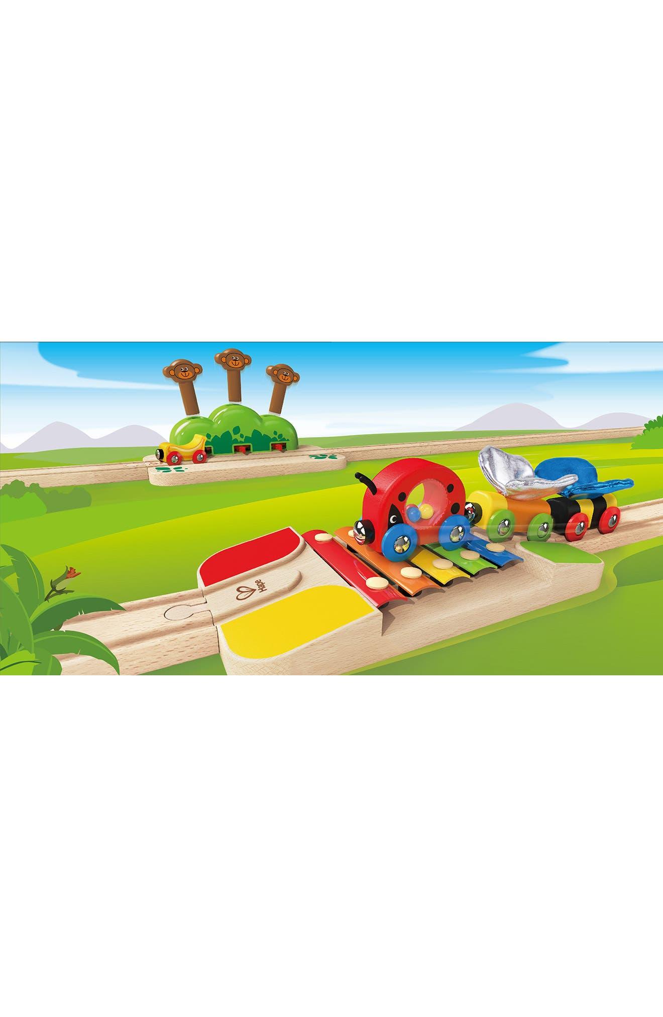 My Little Railway Wooden Train Set,                             Alternate thumbnail 6, color,                             Multi