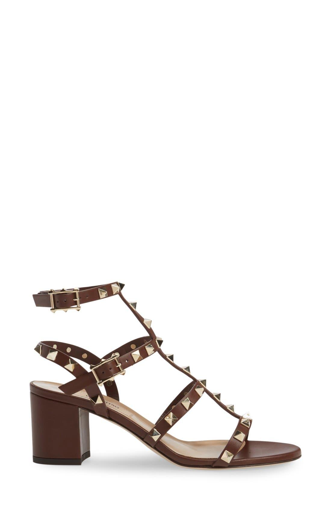 Alternate Image 4  - VALENTINO GARAVANI 'Rockstud' Sandal