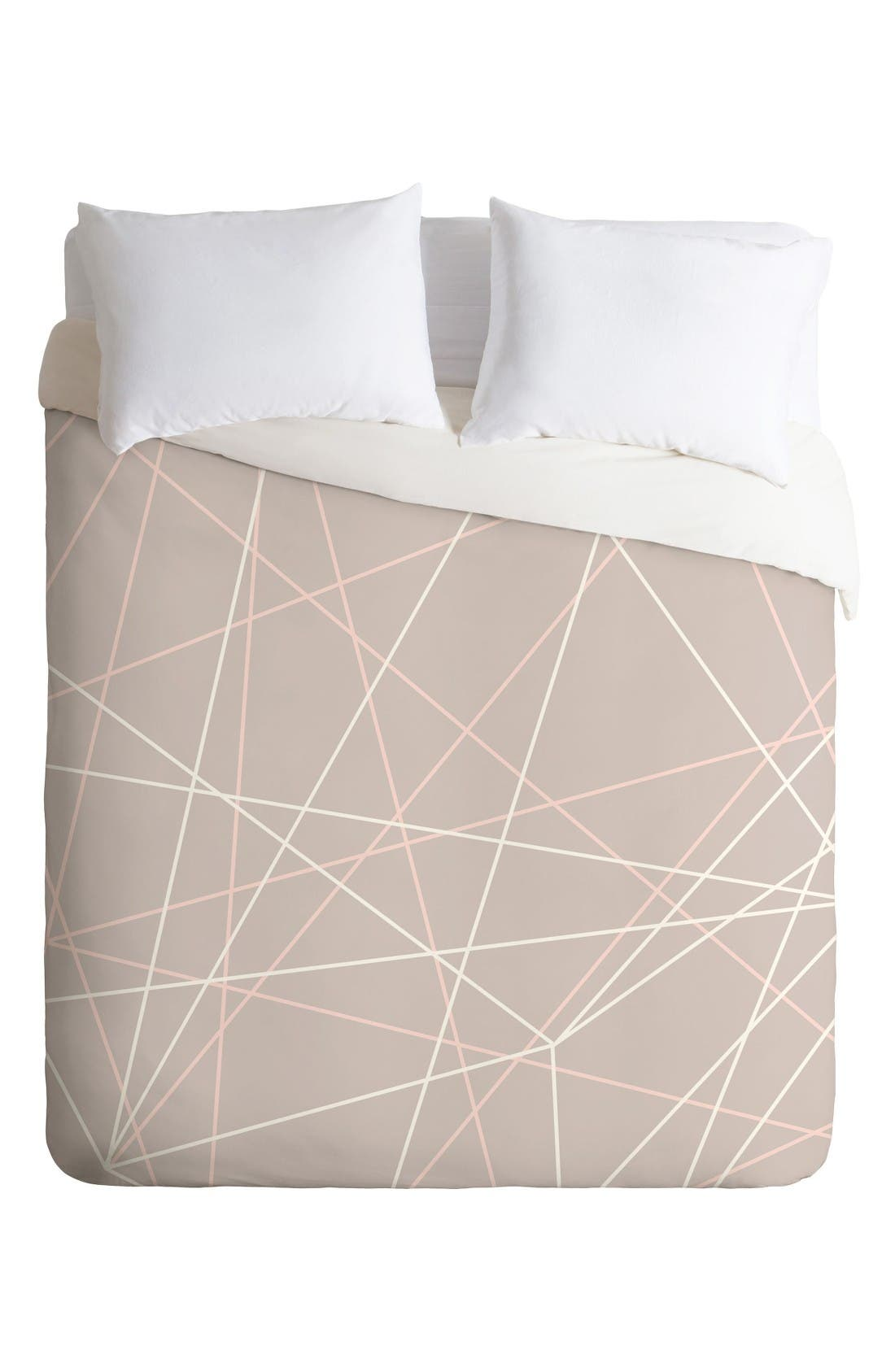Alternate Image 2  - Deny Designs Pastel Lines Duvet Cover & Sham Set