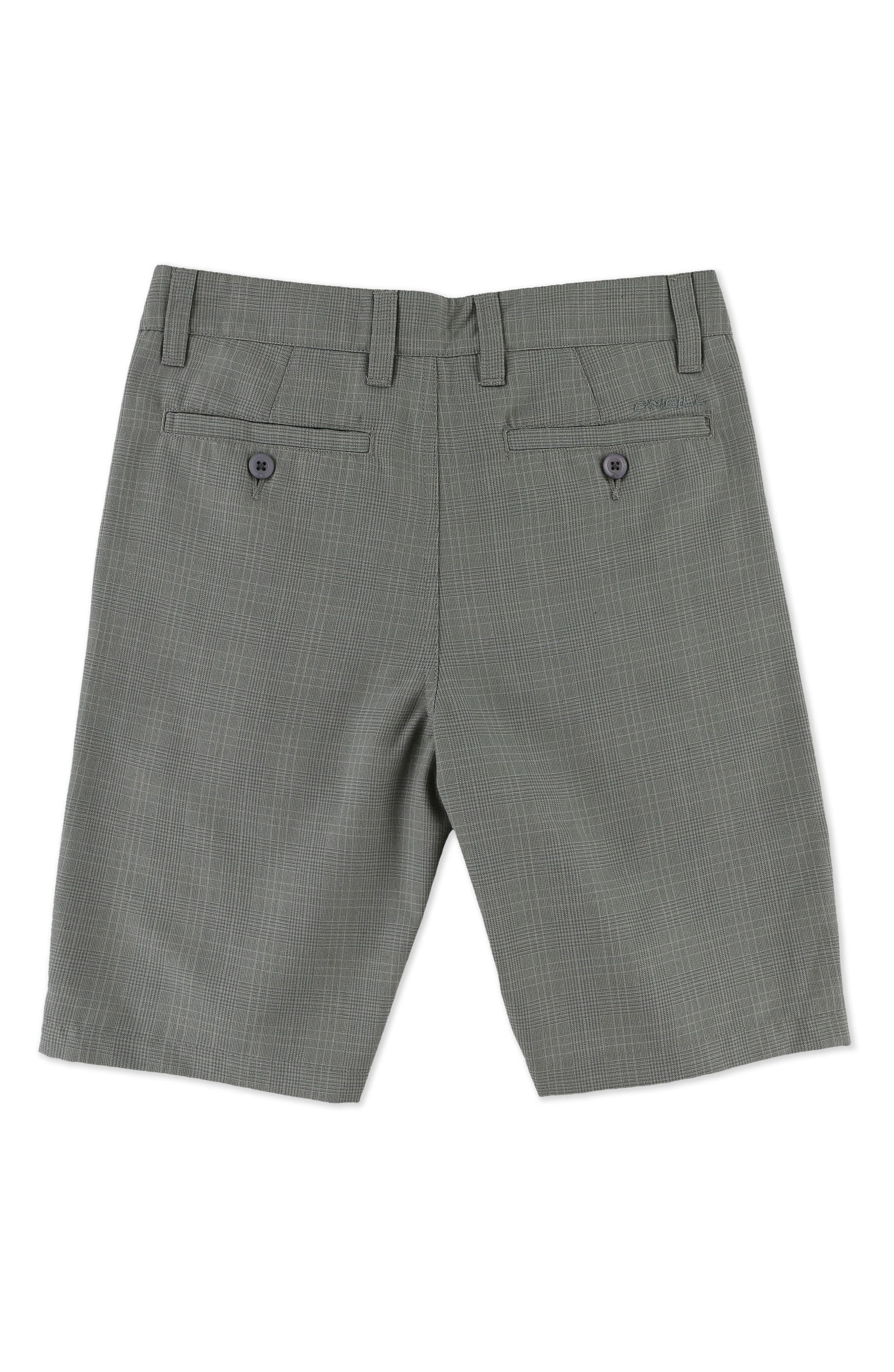 Alternate Image 2  - O'Neill Delta Plaid Chino Shorts (Little Boys)