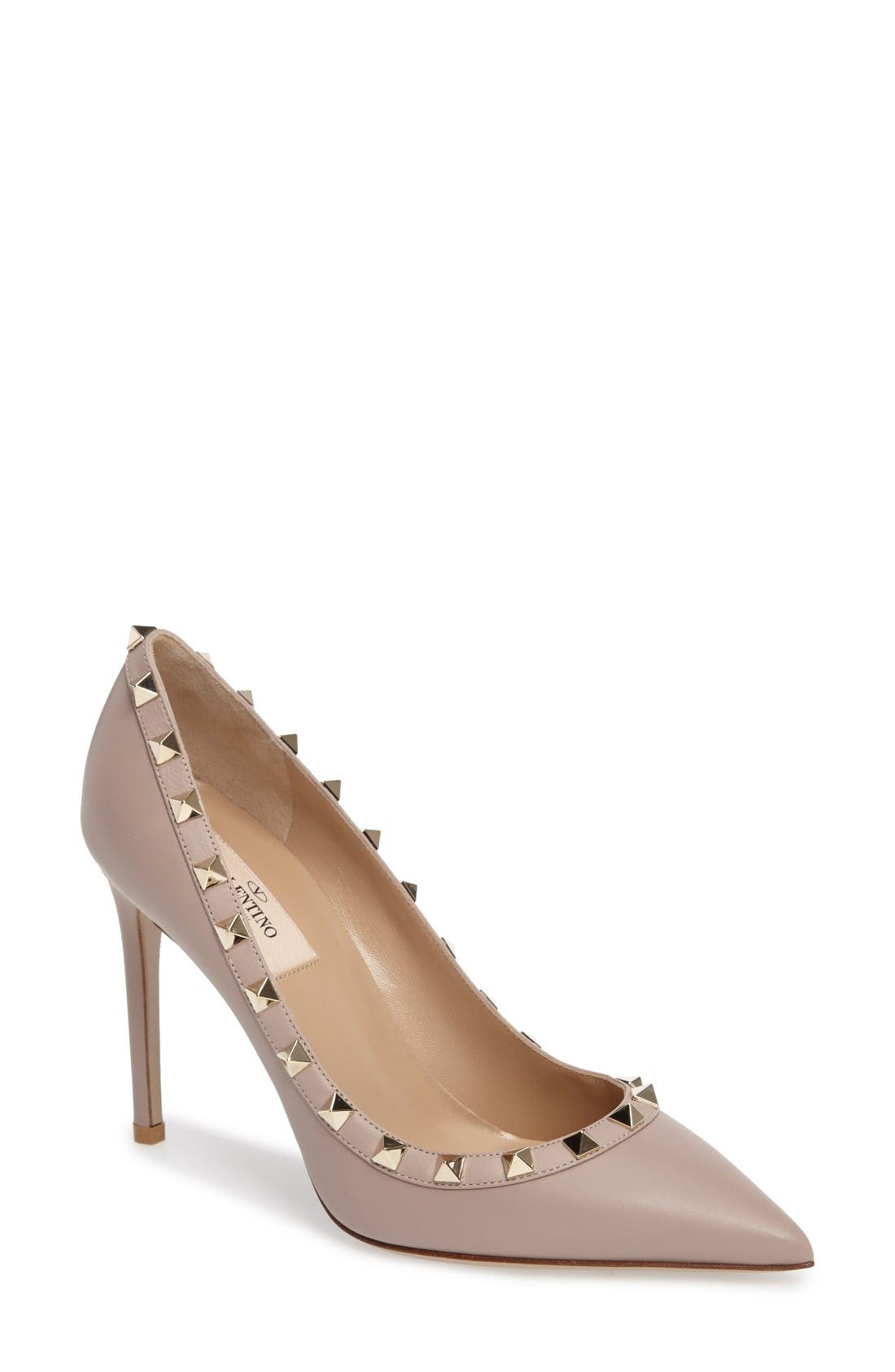 VALENTINO GARAVANI Rockstud Pointed Pump (Women)