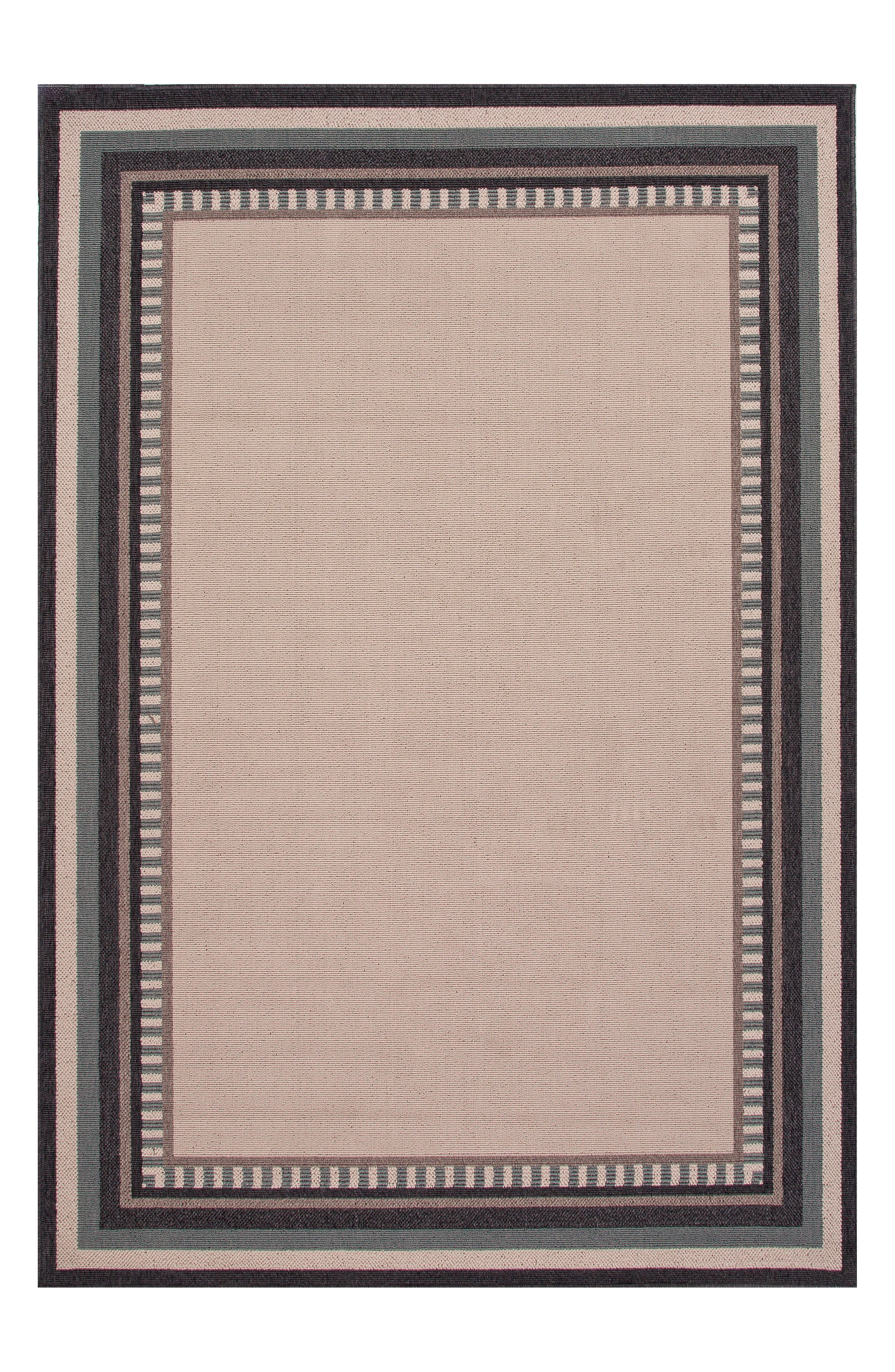 Jaipur Border Monument Indoor/Outdoor Rug