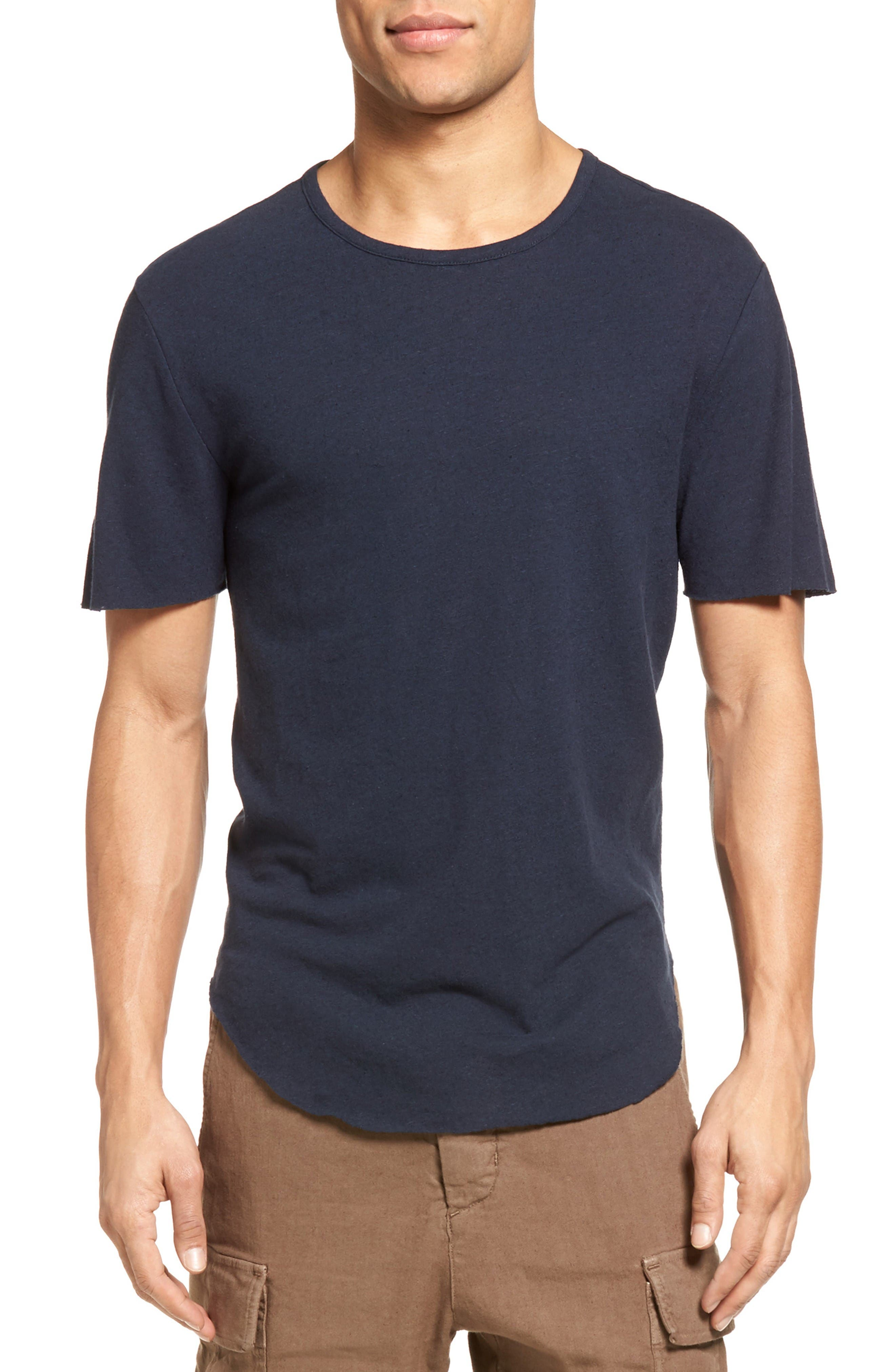 Vince Raw Hem T-Shirt