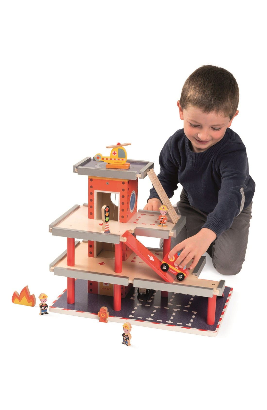 Alternate Image 2  - Janod Fire Station Play Set