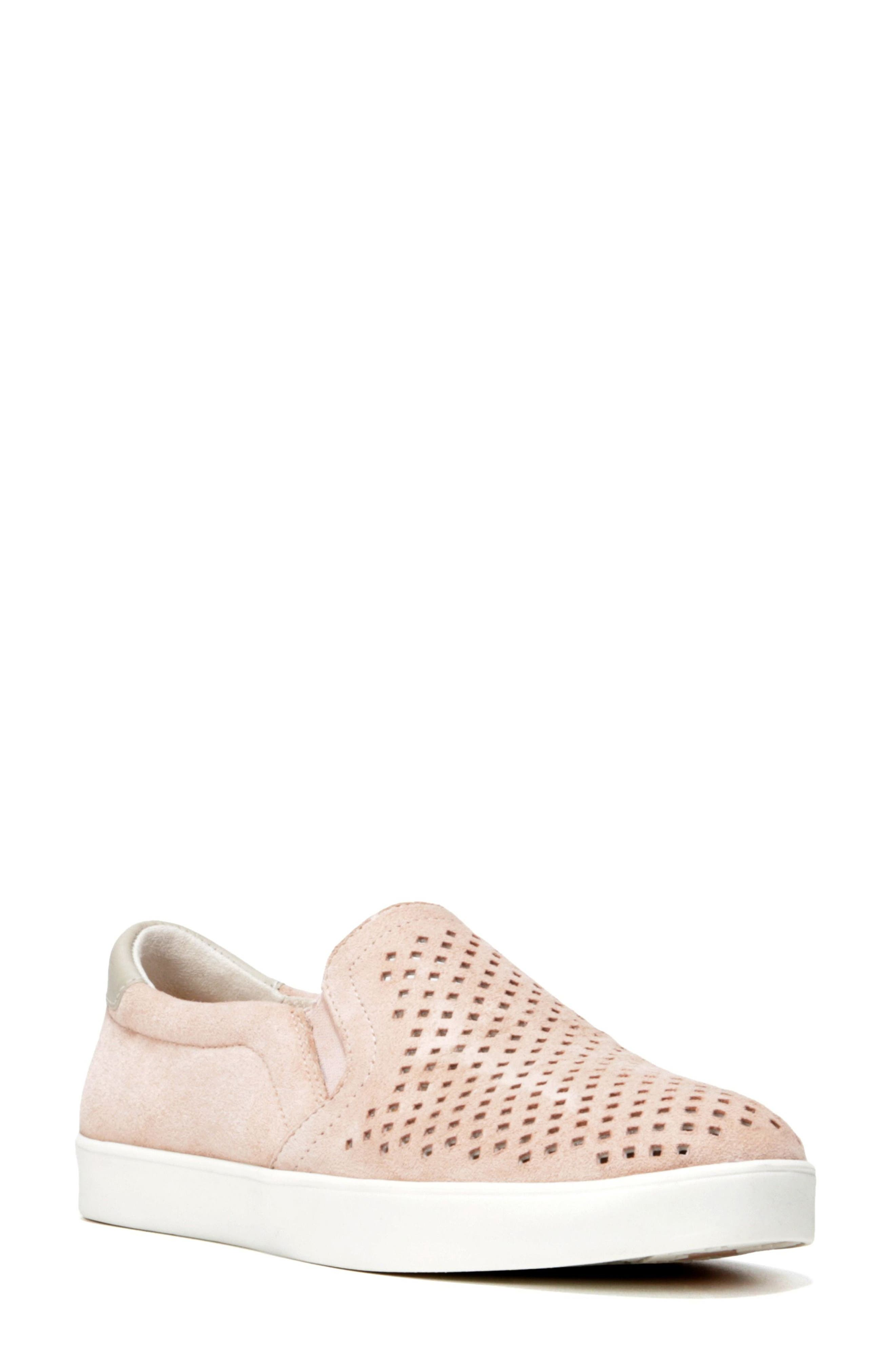 Original Collection 'Scout' Slip On Sneaker,                             Main thumbnail 1, color,                             Seashell Pink Suede
