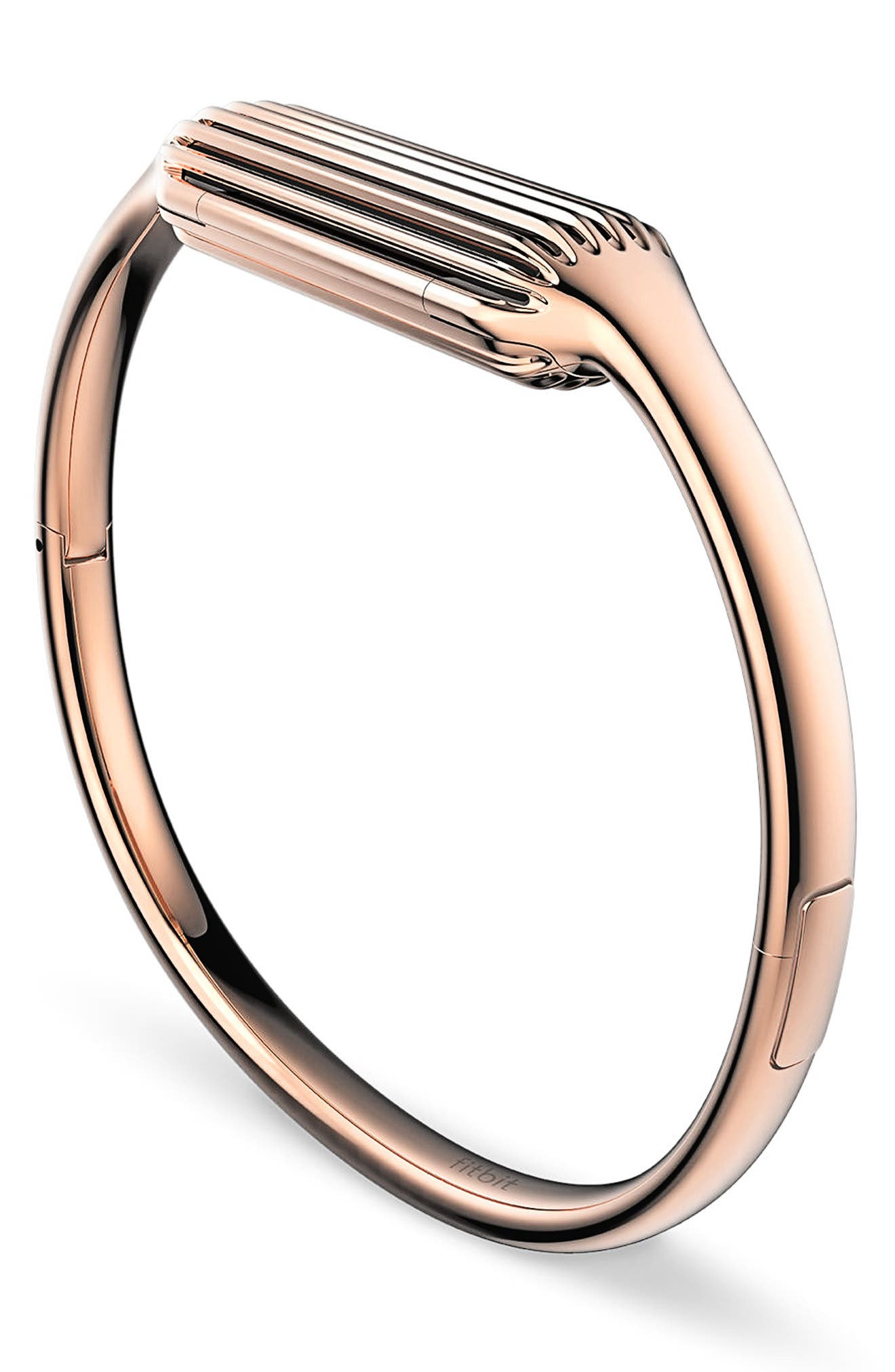 Flex 2 Small Bangle Accessory,                             Alternate thumbnail 2, color,                             Rose Gold
