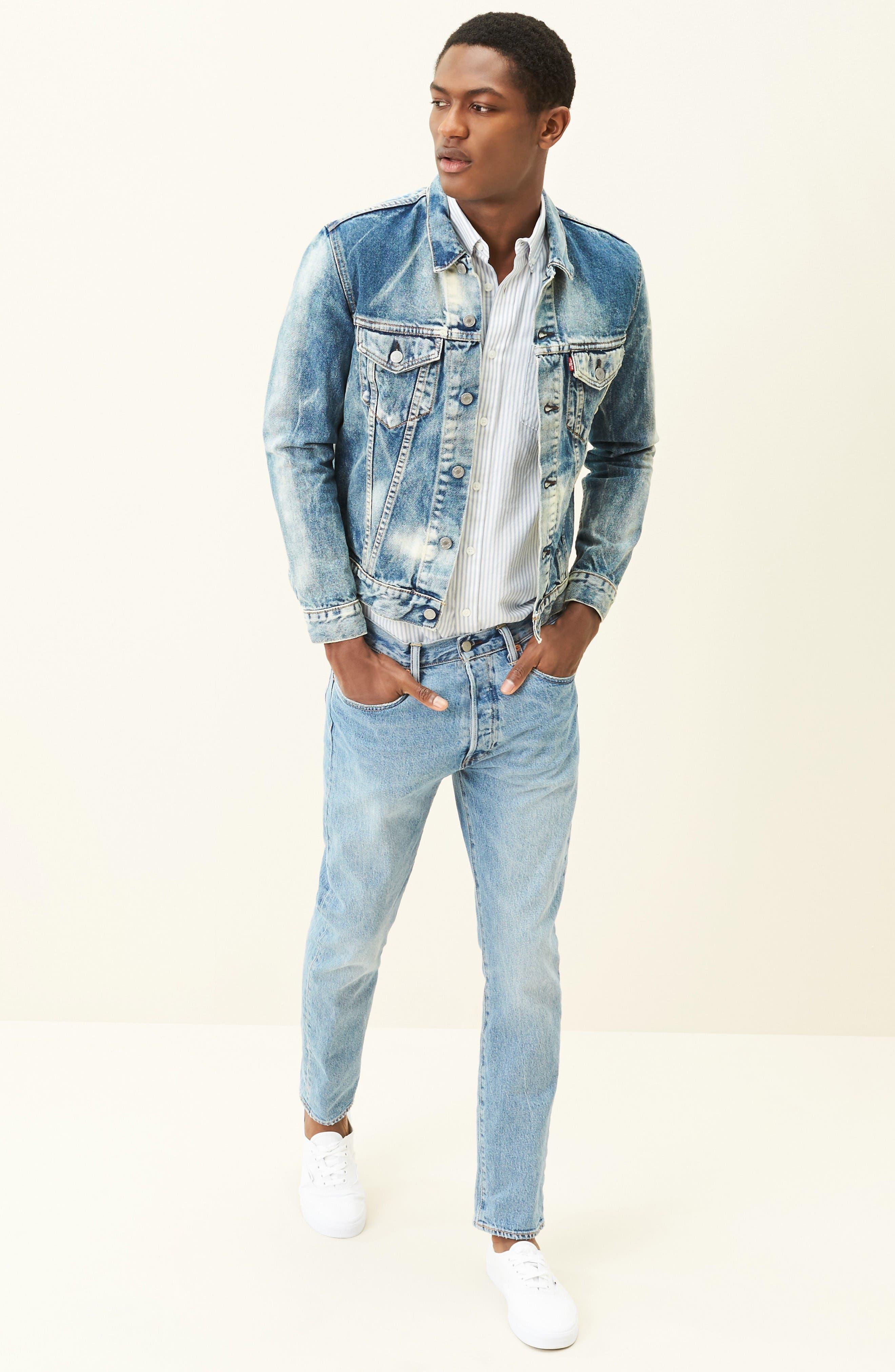 Alternate Image 6  - Levi's® Denim Trucker Jacket