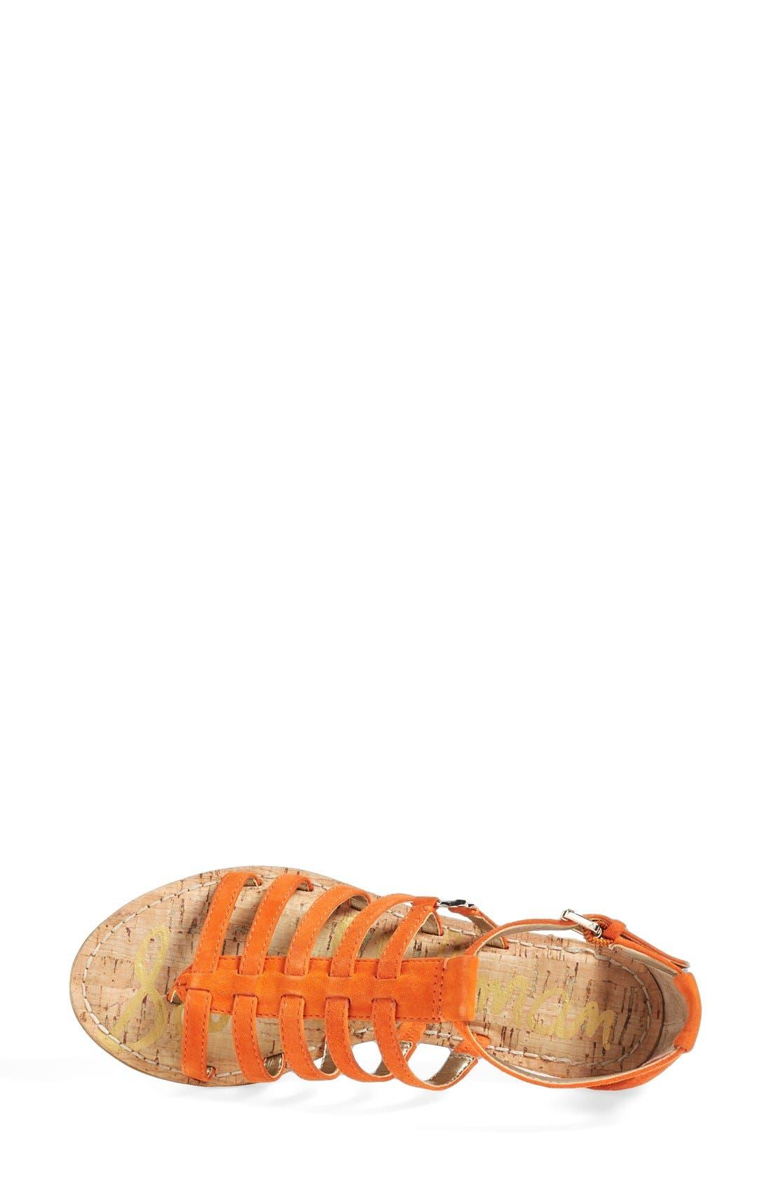 Alternate Image 3  - Sam Edelman 'Donna' Gladiator Sandal (Women)