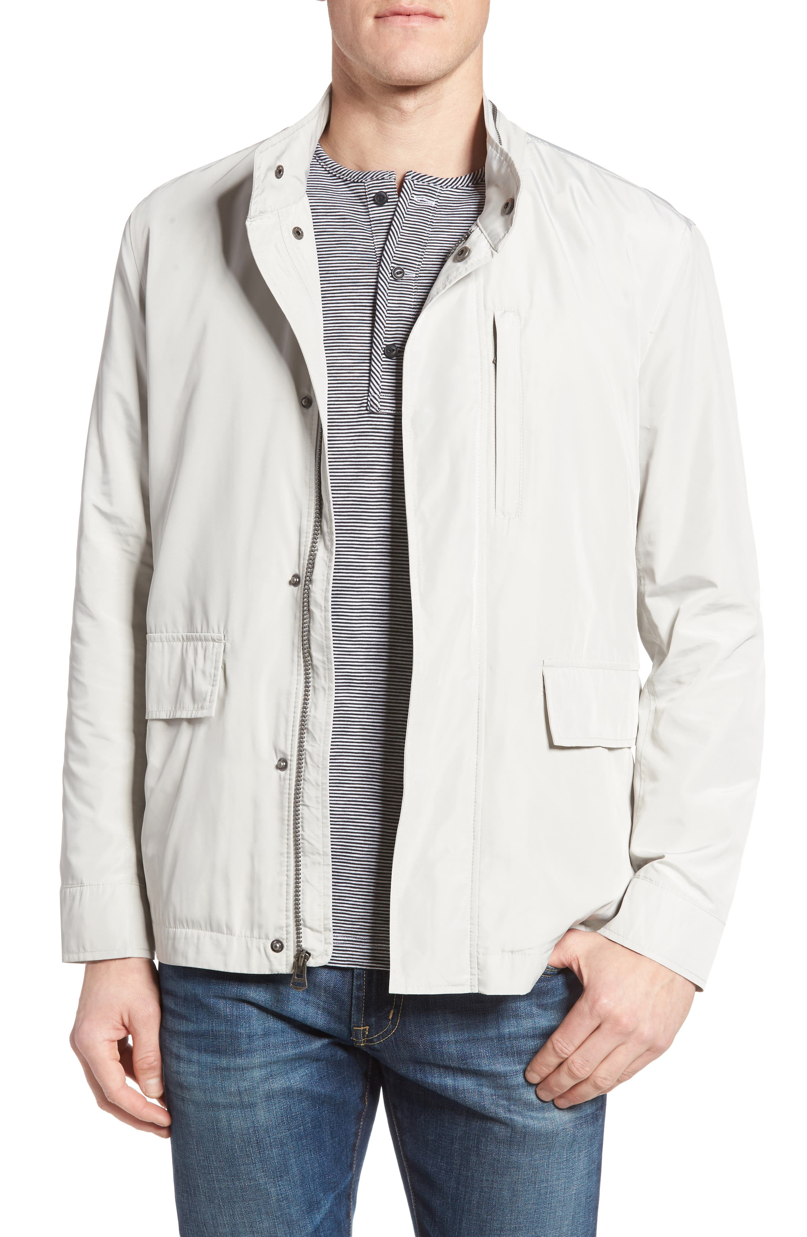 Packable Jacket,                         Main,                         color, Stone