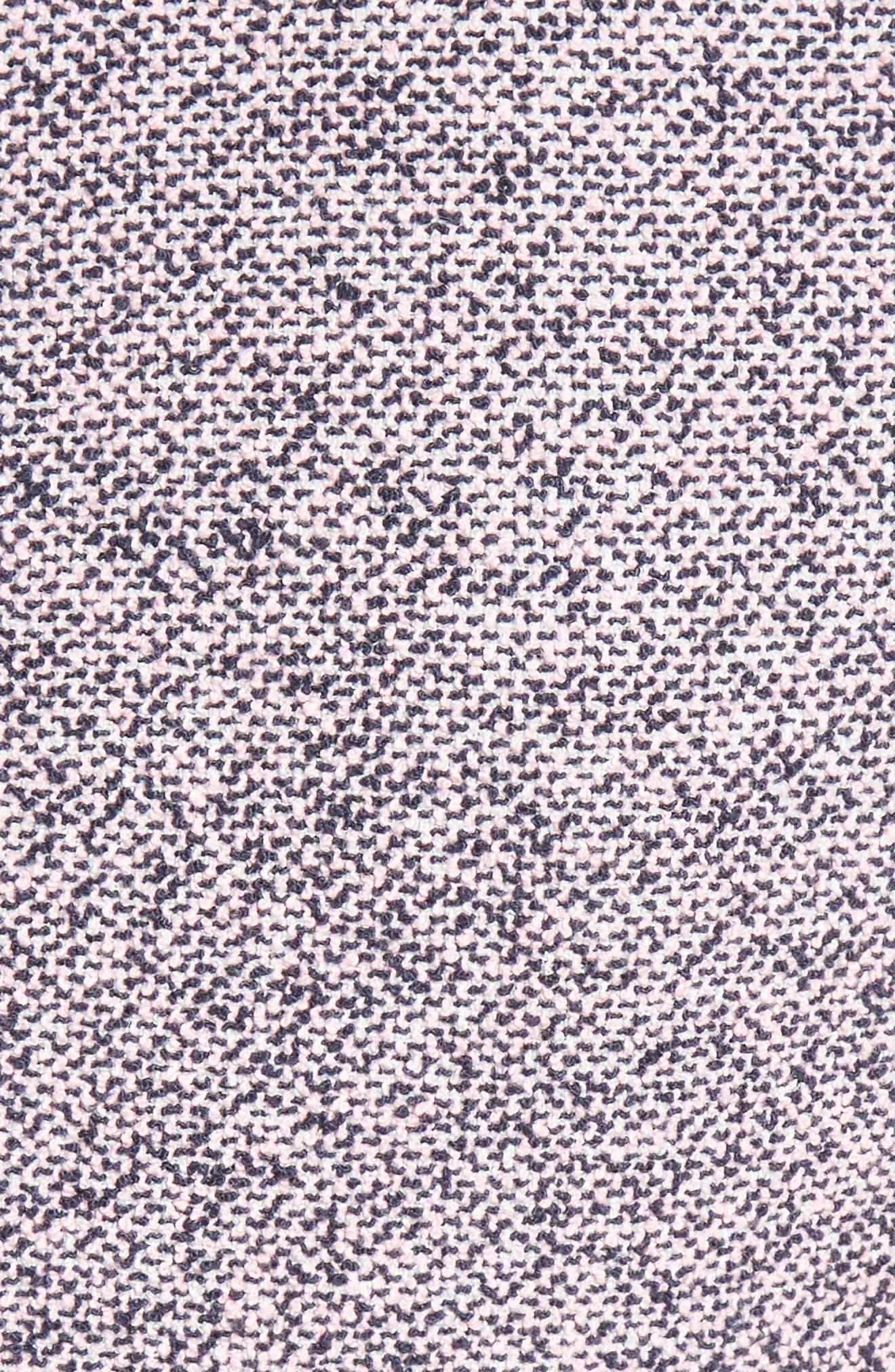 Alternate Image 6  - Rebecca Taylor Stretch Tweed Fit & Flare Dress