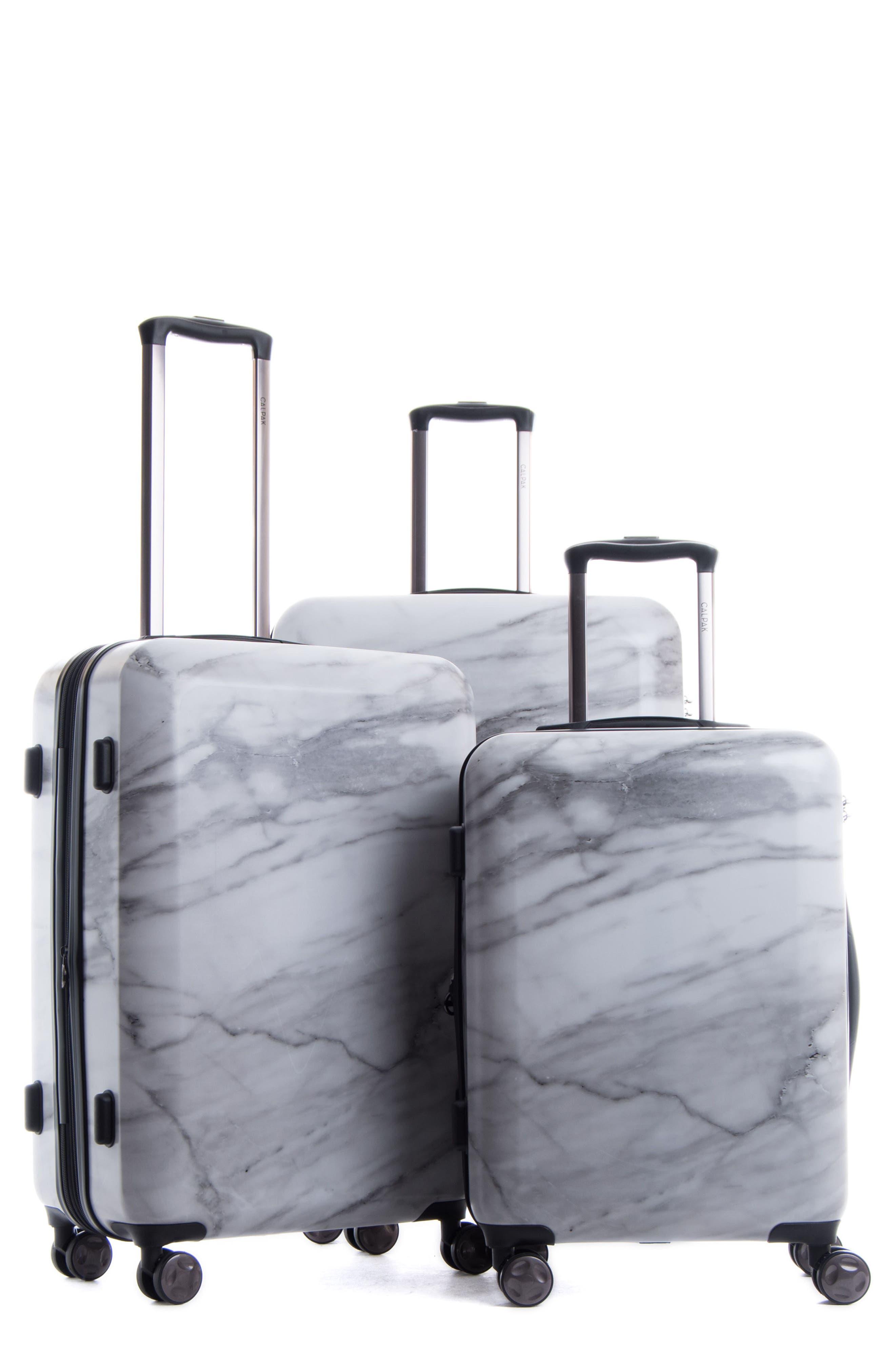Main Image - CALPAK Astyll 3-Piece Marbled Luggage Set