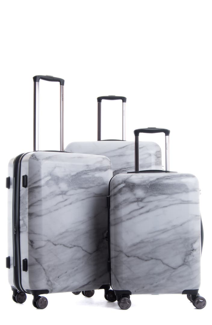 Calpak Astyll 3 Piece Marbled Luggage Set Nordstrom