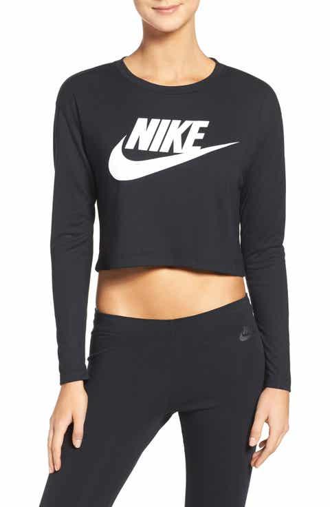 Nike Crop Top Long Sleeve