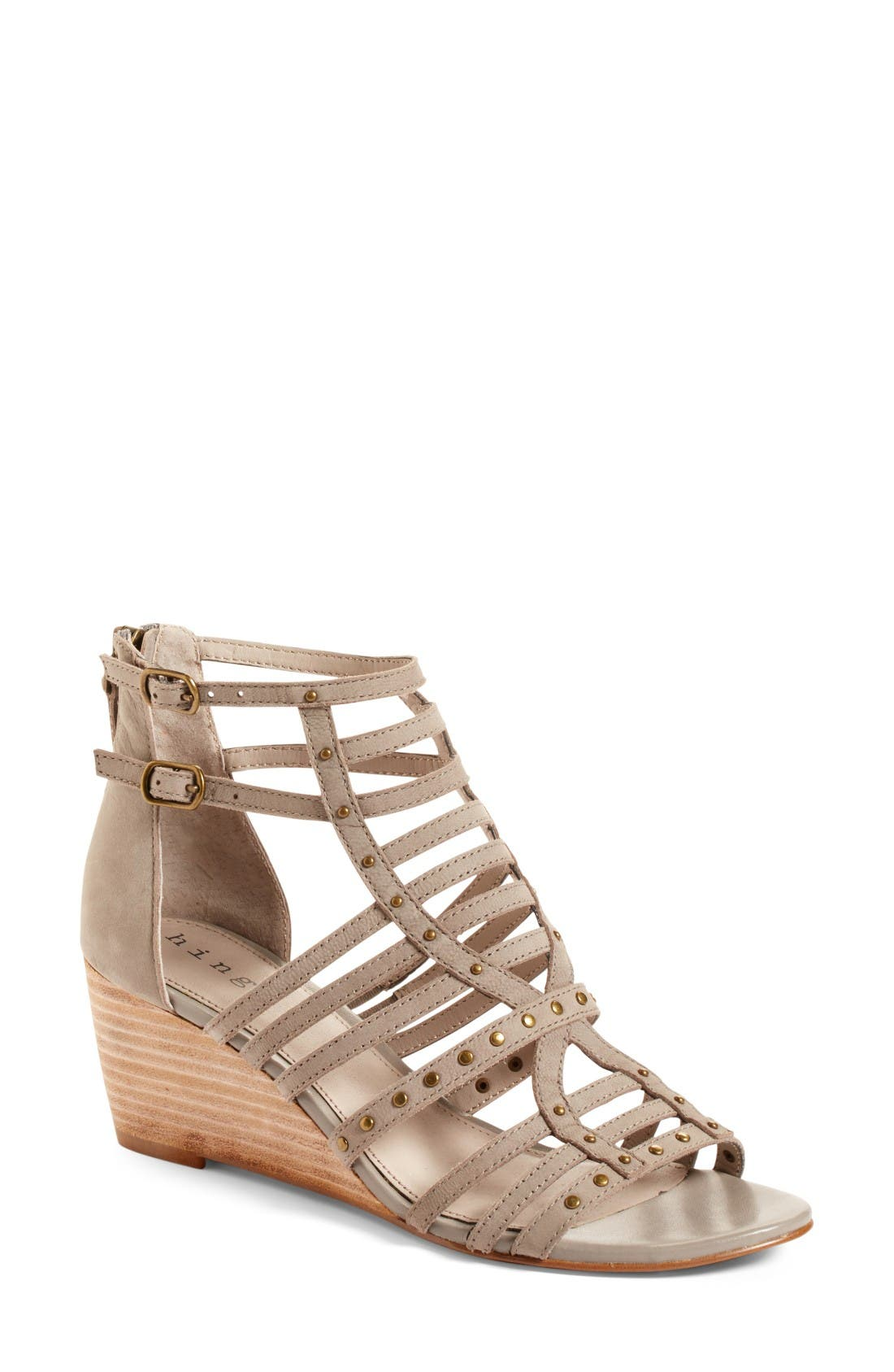 Hinge Nolan Strappy Wedge Sandal (Women)