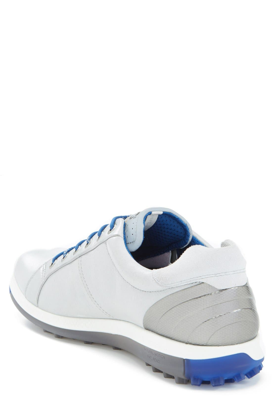 BIOM Hybrid 2 Golf Shoe,                             Alternate thumbnail 2, color,                             Concrete/ Royal
