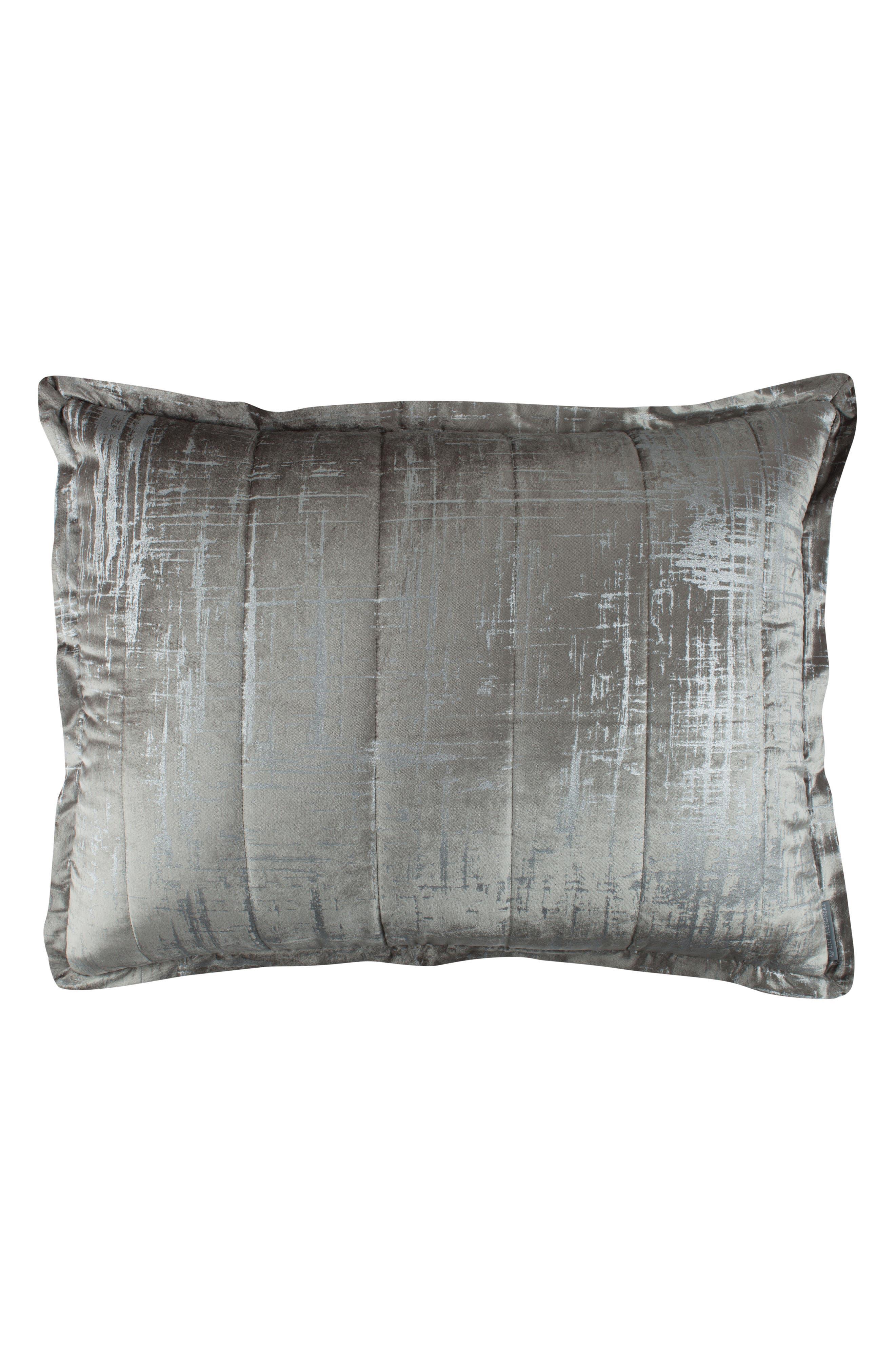 Moderne Sham,                         Main,                         color, Silver