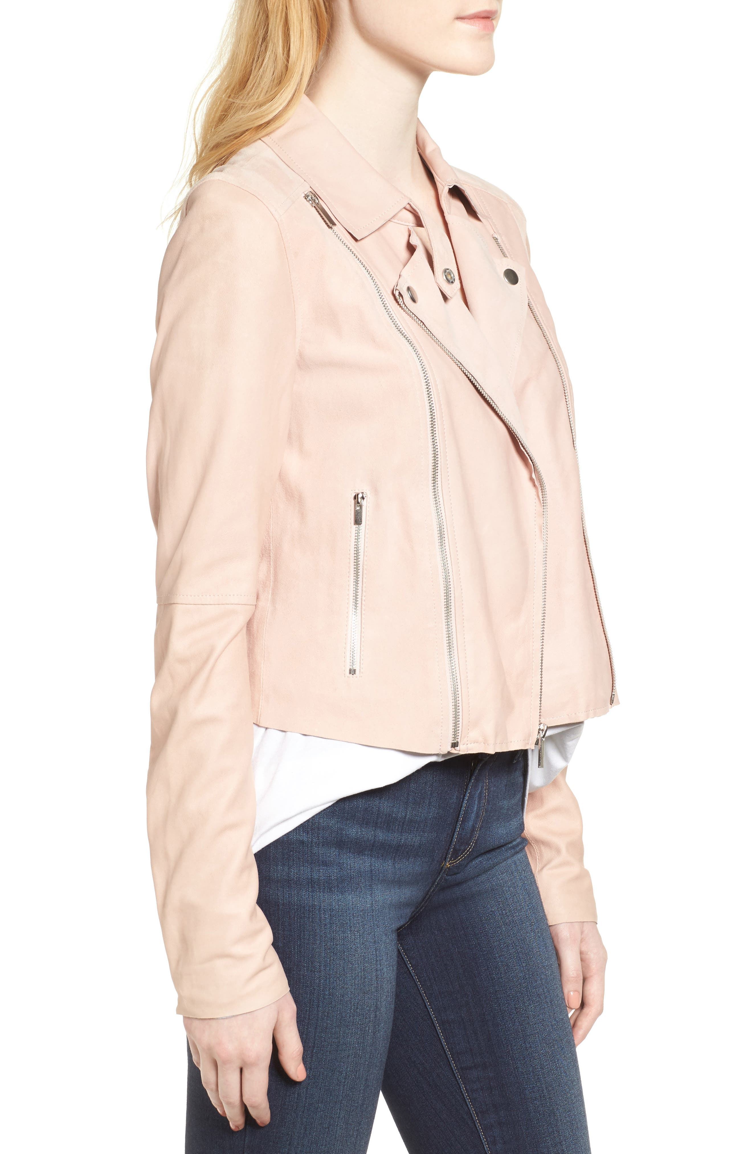 Alternate Image 4  - PAIGE Silvie Leather Moto Jacket