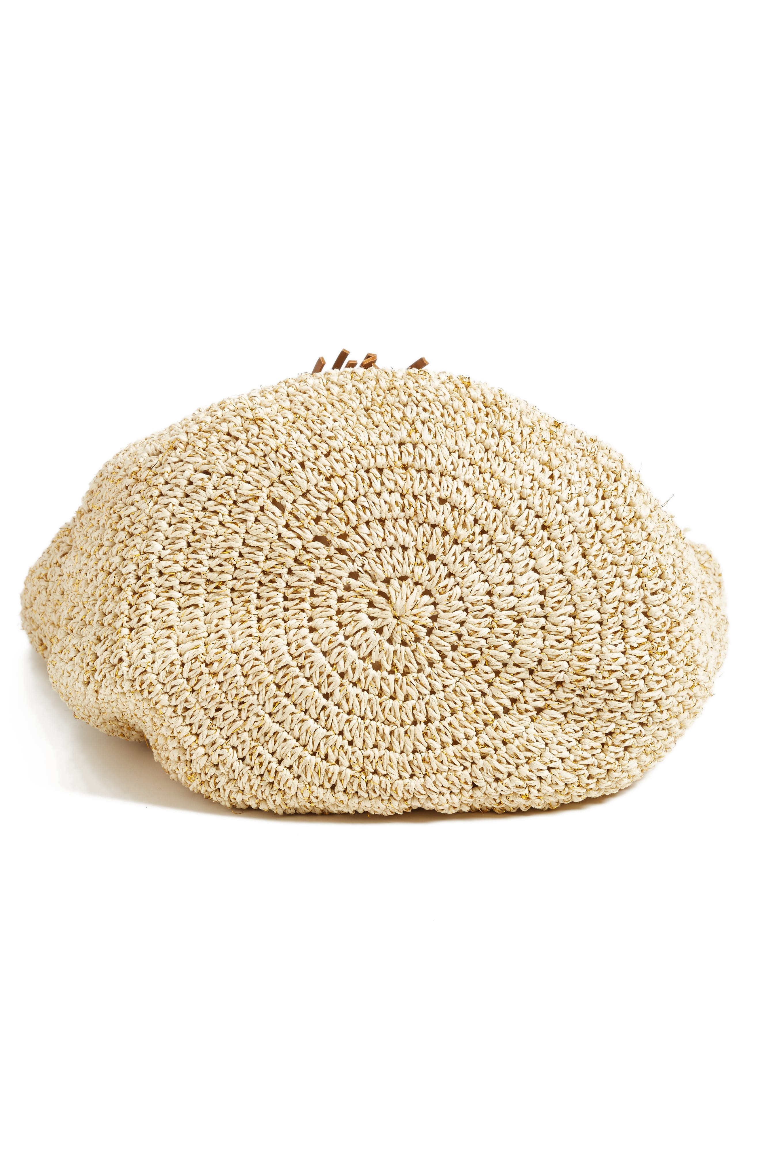 Alternate Image 6  - Nordstrom Crochet Straw Tote