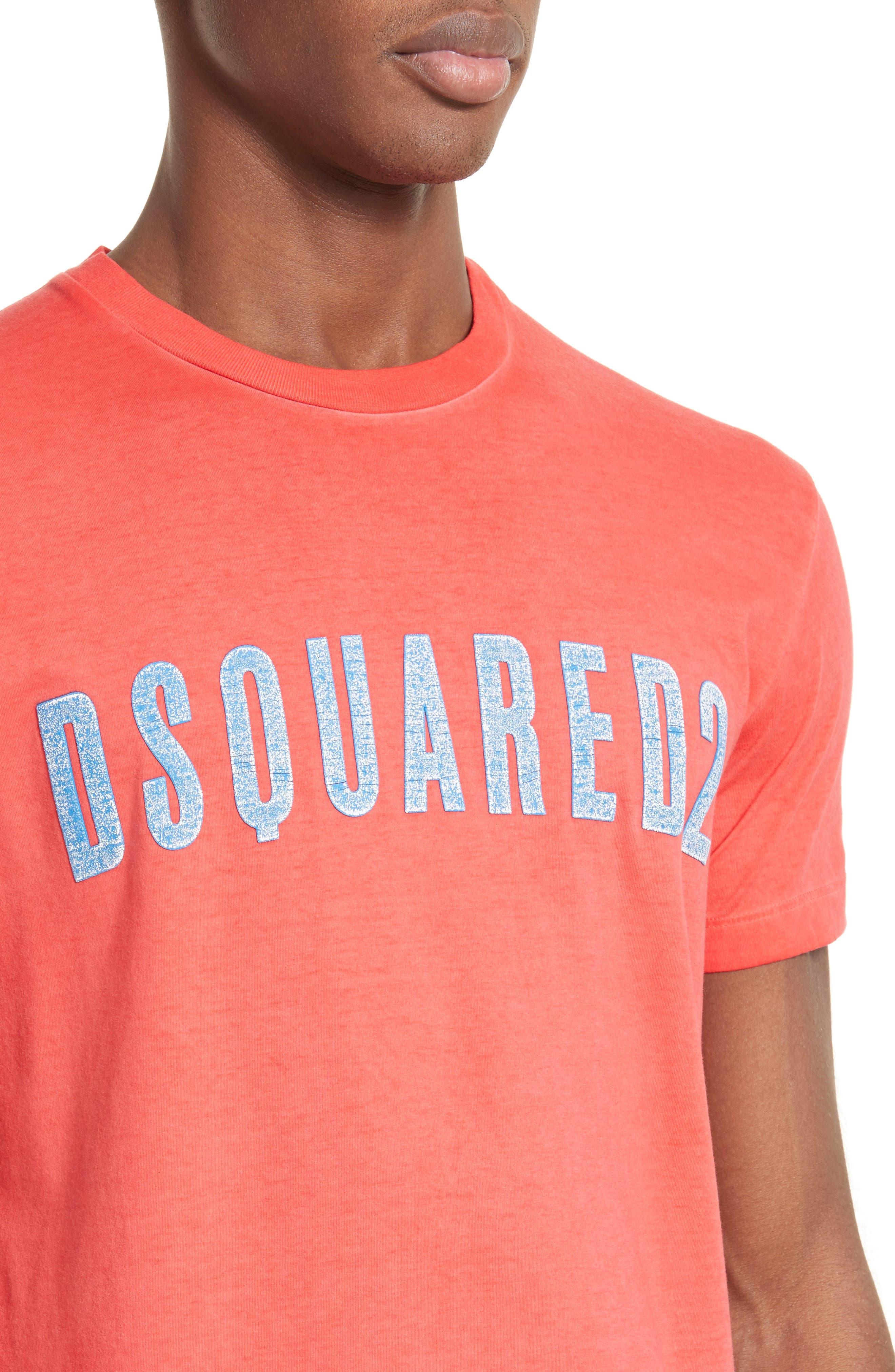 Alternate Image 4  - Dsquared2 Crackle Logo T-Shirt