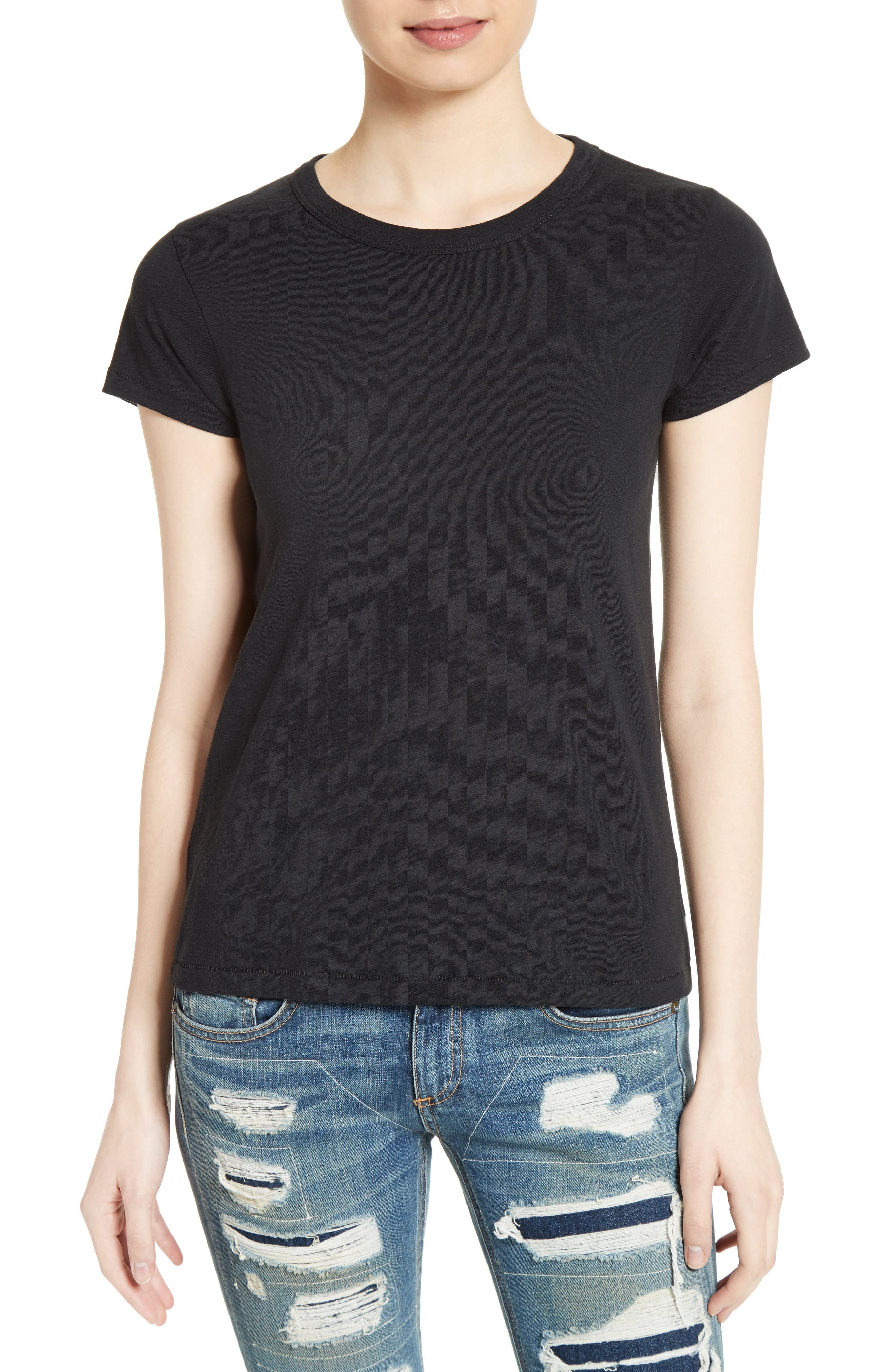 The Tee,                         Main,                         color, Black