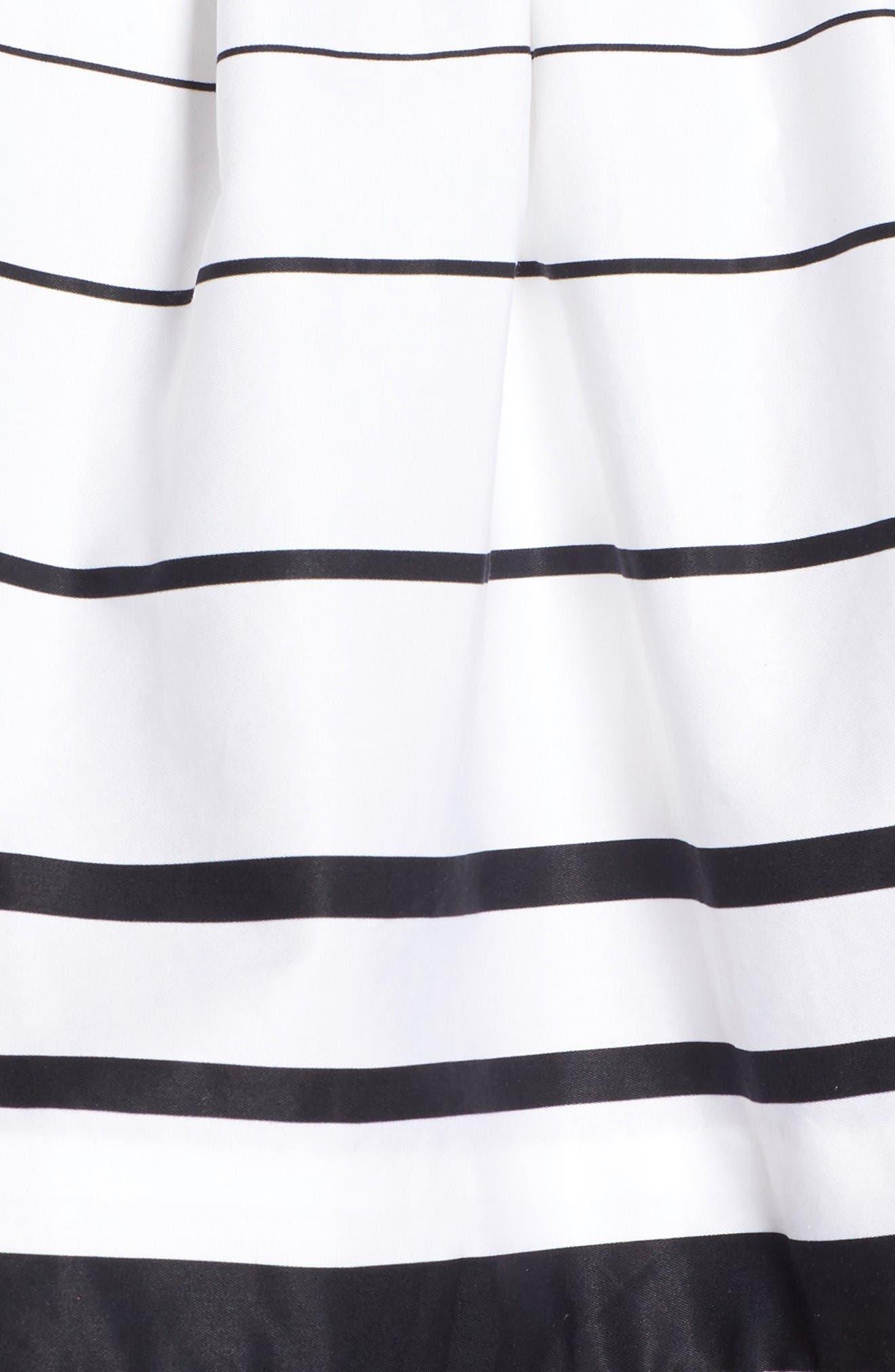 Alternate Image 5  - KENDALL + KYLIE Stripe Off the Shoulder Top