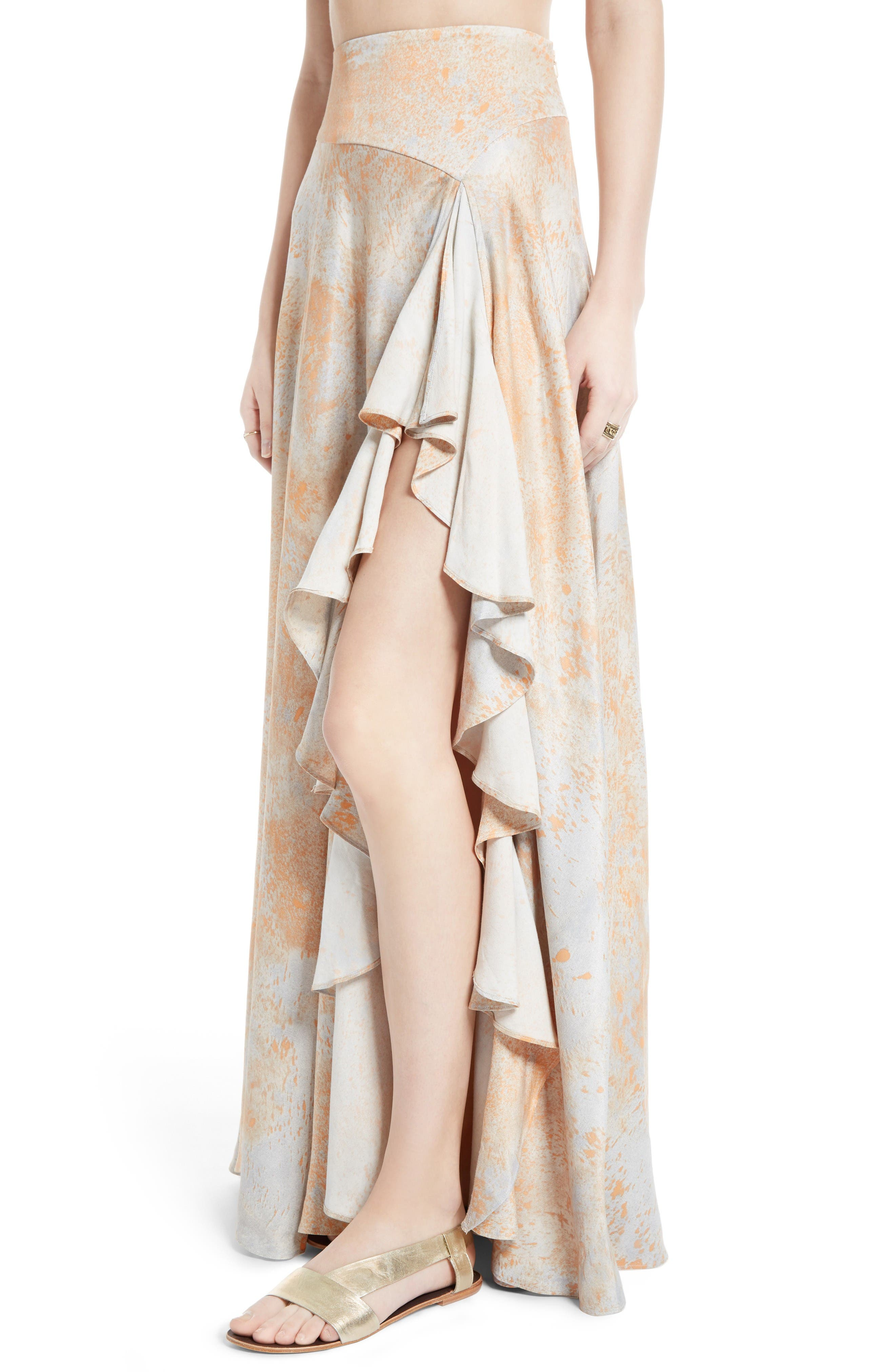 Alternate Image 4  - Free People Gardenia Two-Piece Maxi Dress