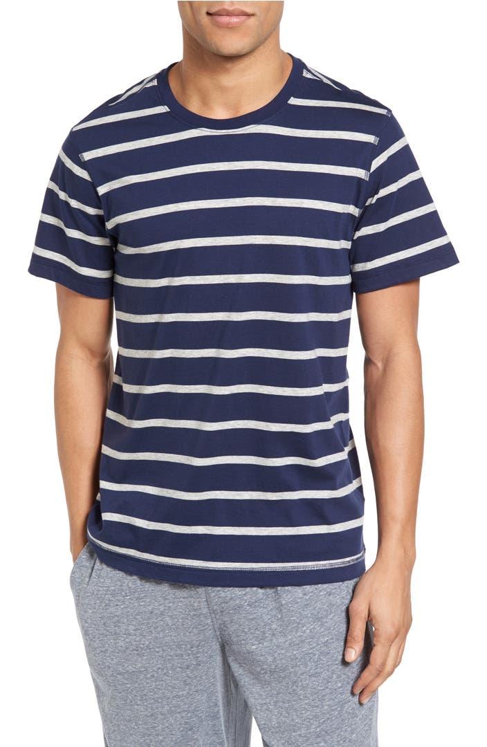 Daniel buchler peruvian pima cotton stripe t shirt nordstrom for Peruvian cotton t shirts