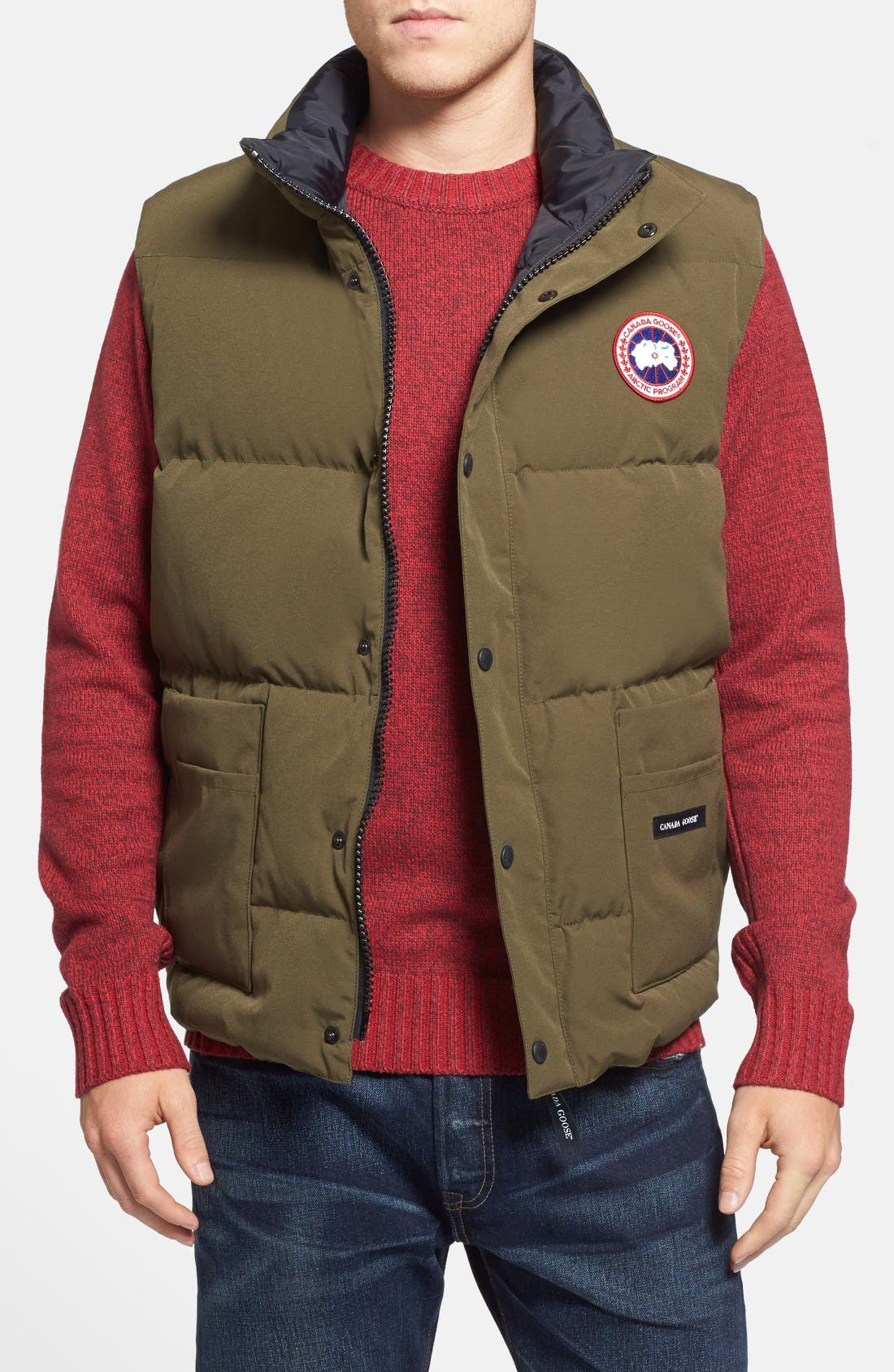 Canada Goose 'Freestyle' Water Resistant Regular Fit Down Vest