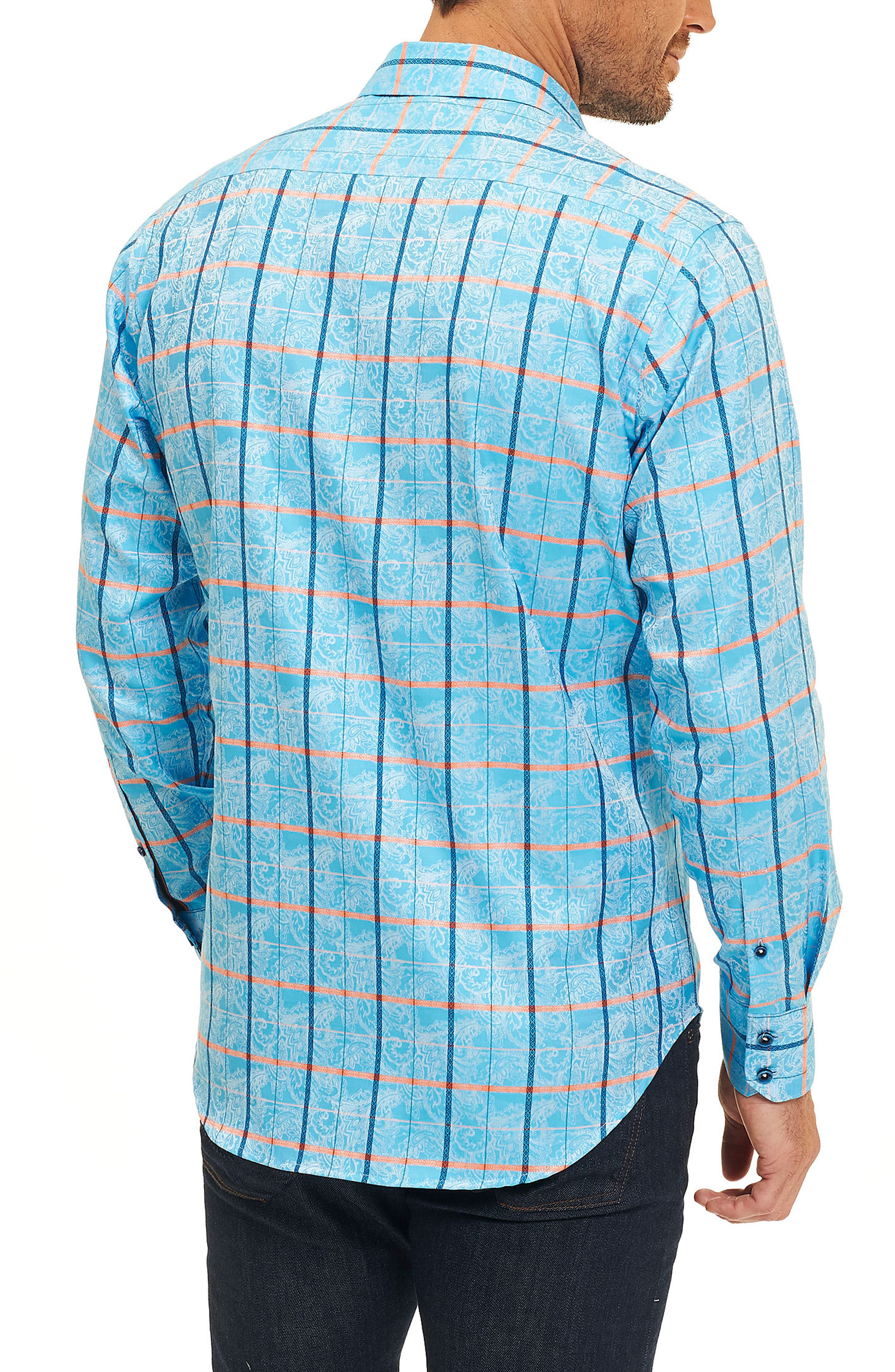 Alternate Image 2  - Robert Graham Kannan Egyptian Cotton Sport Shirt