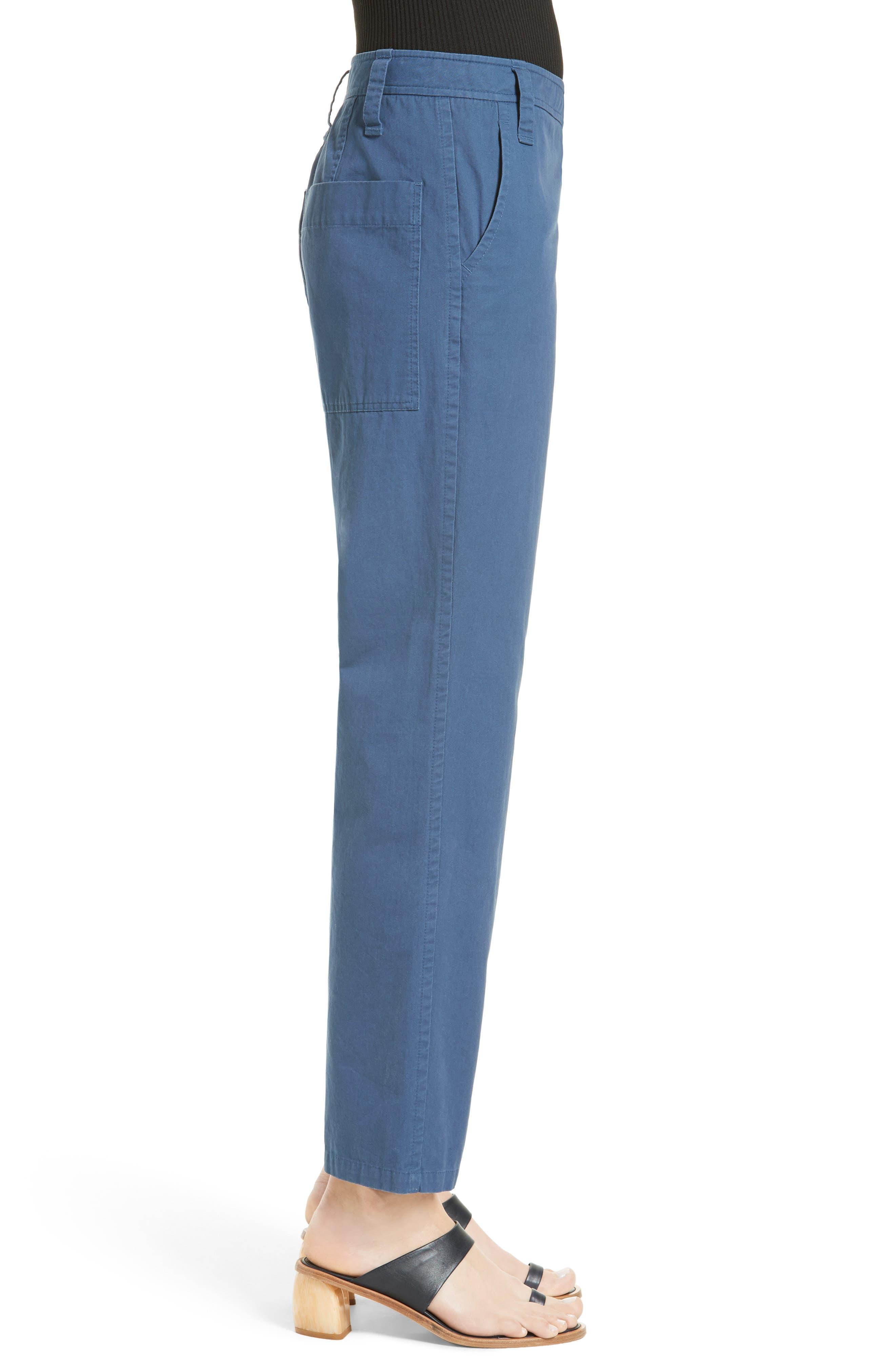 Alternate Image 4  - Tibi Slouchy Enzyme Twill Pants