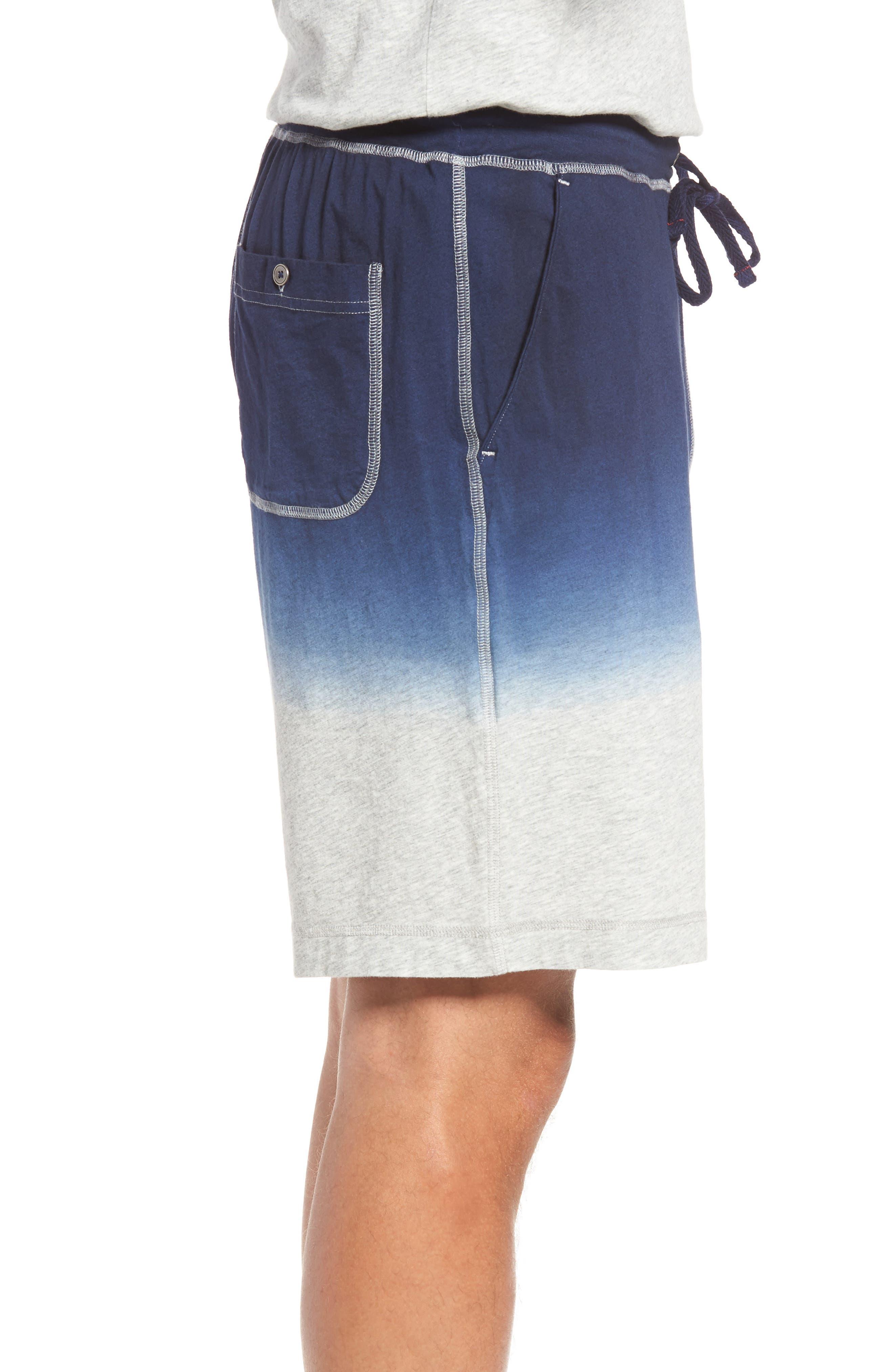 Alternate Image 3  - Daniel Buchler Dip Dye Lounge Shorts