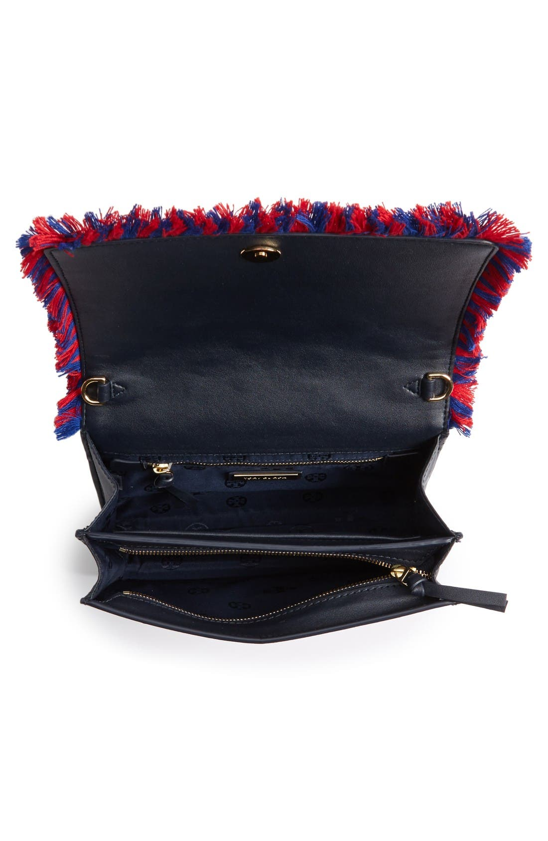 Alternate Image 3  - Tory Burch Embroidered Floral Crossbody Bag