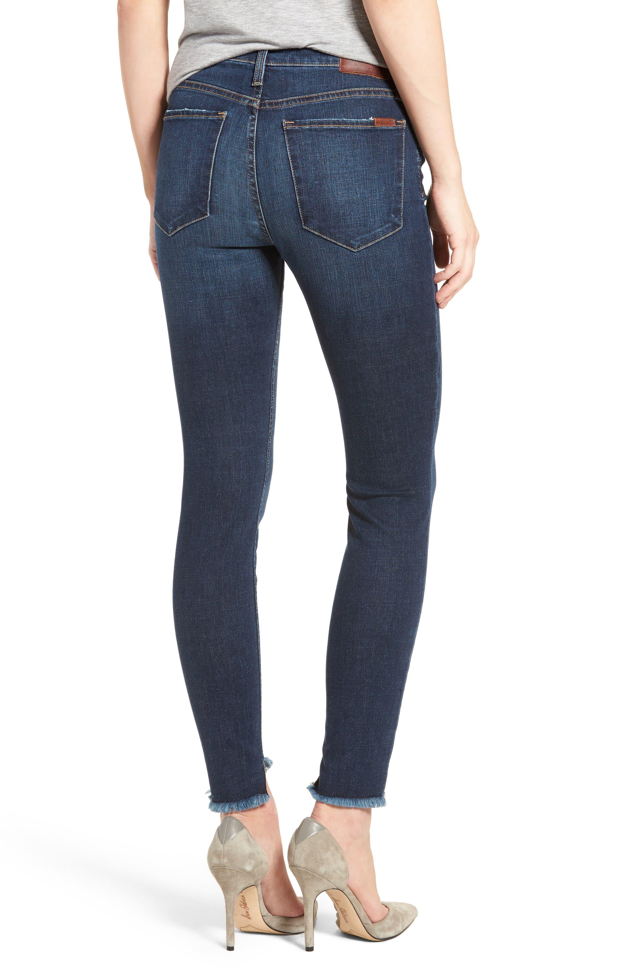 Alternate Image 2  - Joe's Flawless - Charlie Blondie Hem Jeans (Tania)
