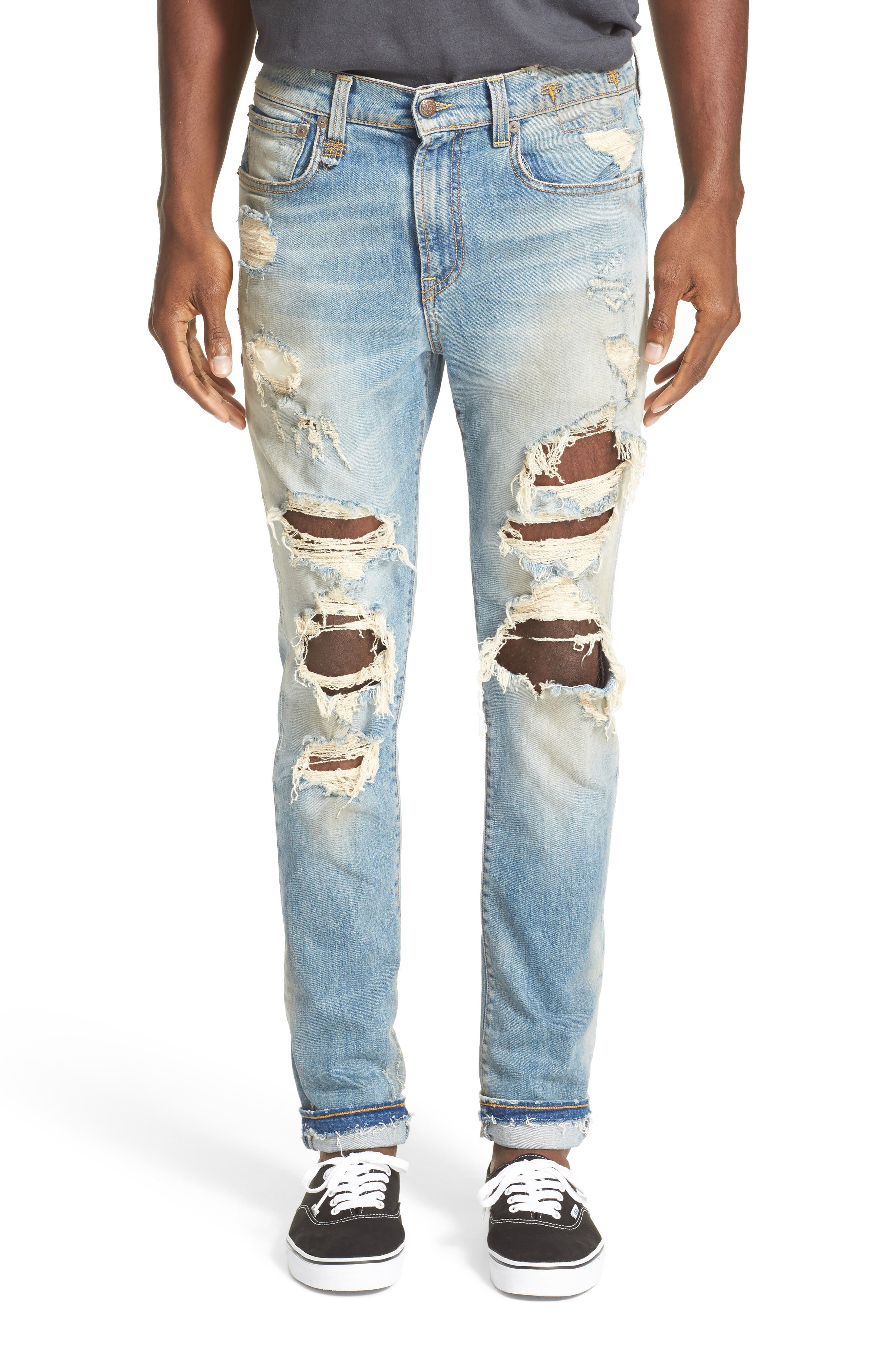 Skate Destroyed Jeans,                         Main,                         color, Cromwell